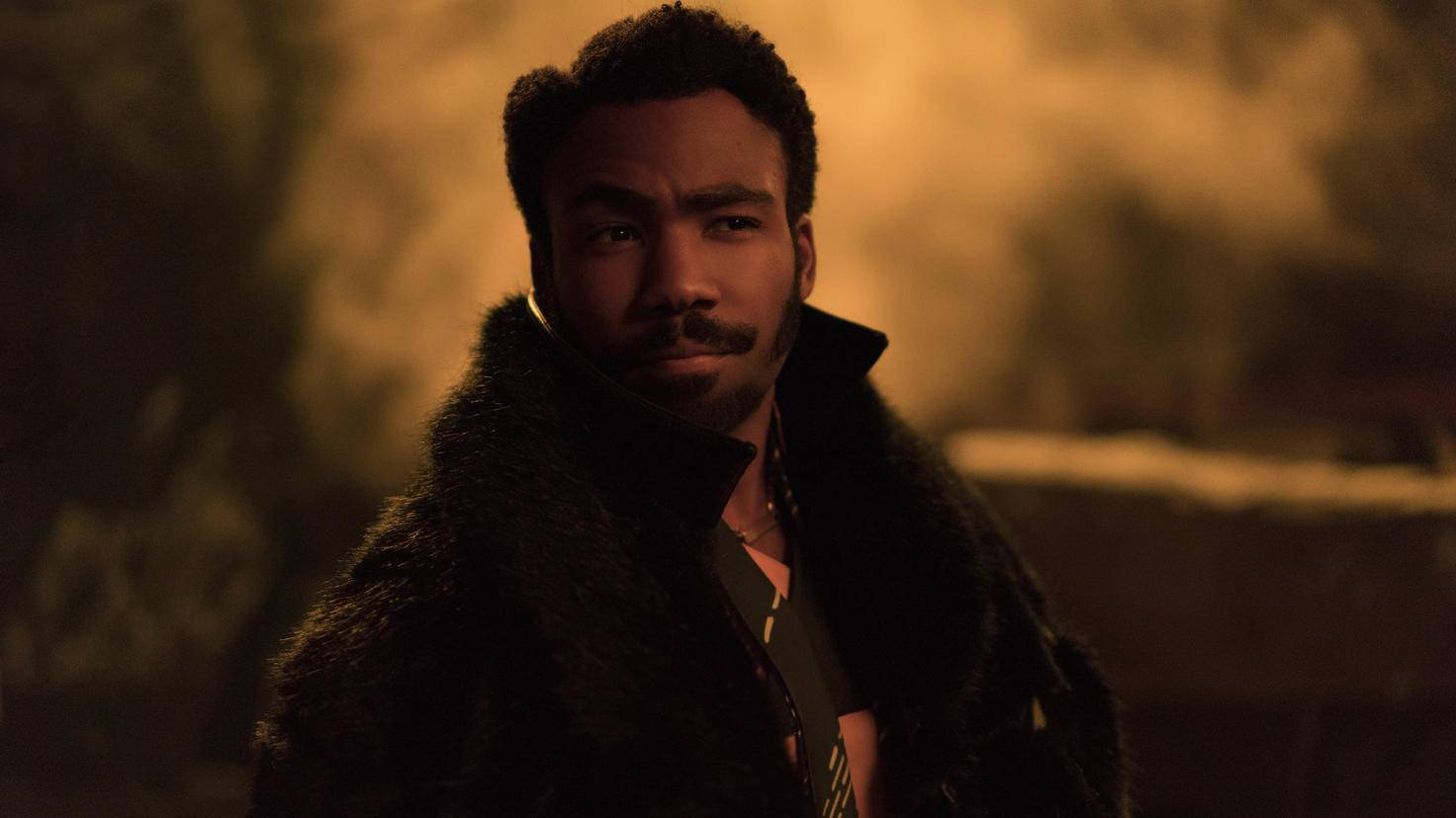 Donald Glover als Lando Calrissian.