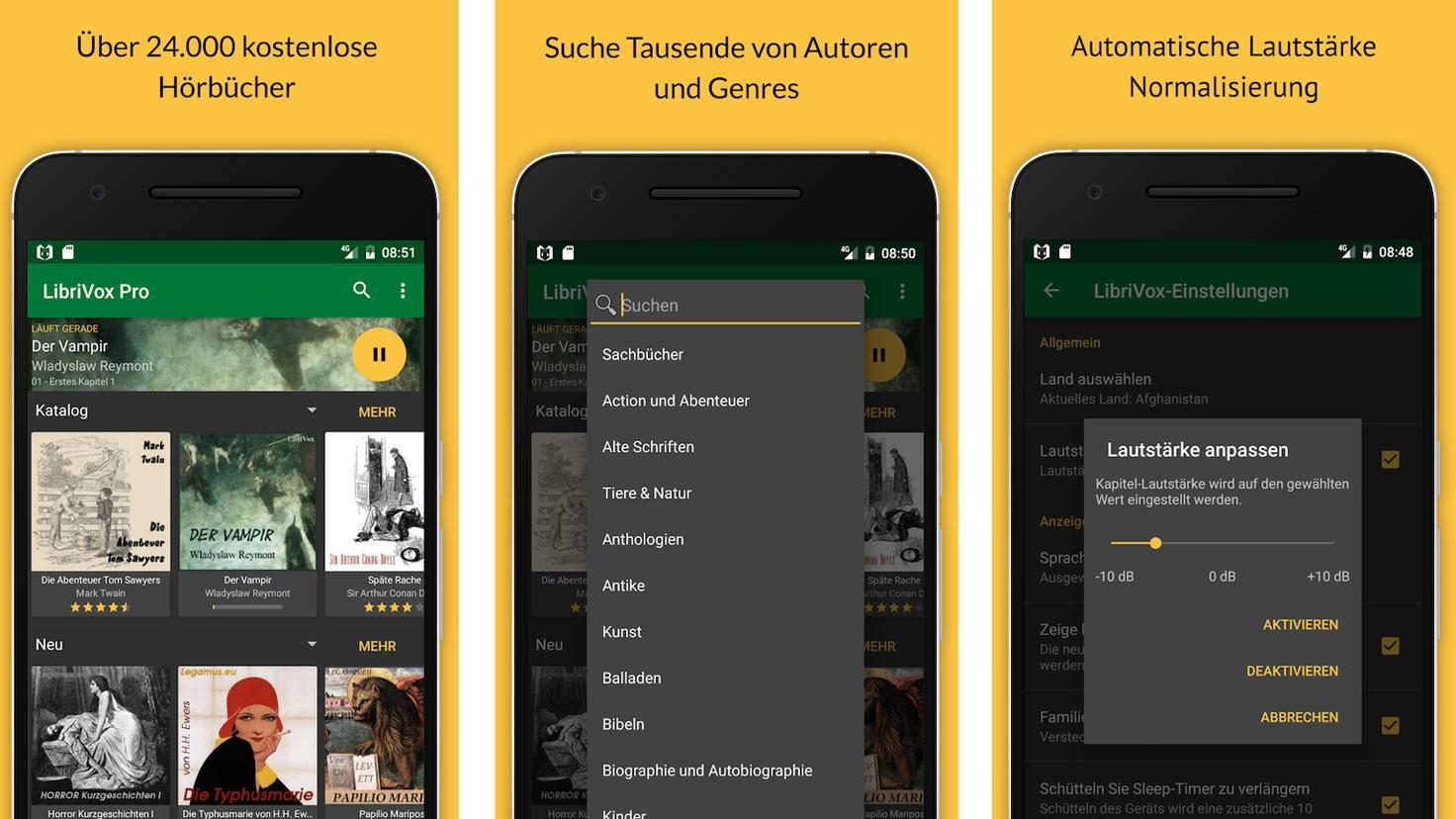 LibriVox-Google PlayStore-BookDesign