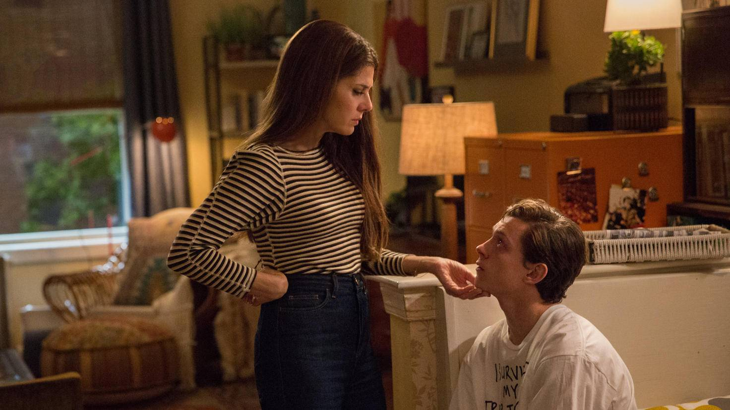 Marisa Tomei und Tom Holland in Spider-Man Homecoming