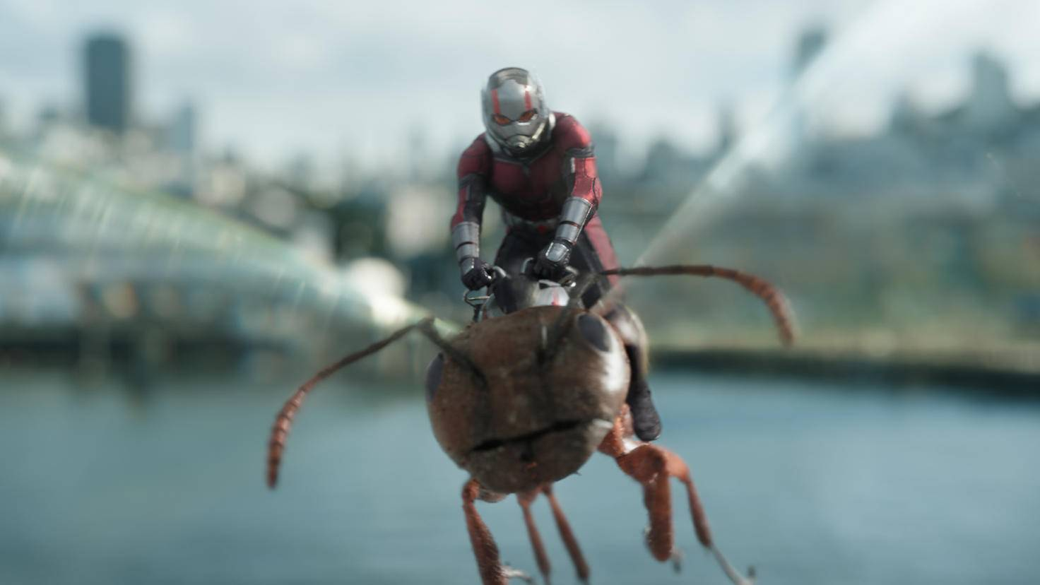 Ein Ant-Man-Game kommt natürlich nicht ohne Flugeinlagen aus!