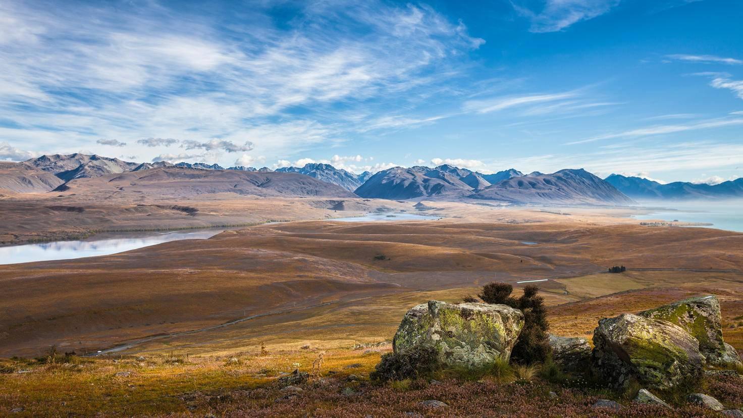 Pelennor-Felder-Herr der Ringe Drehorte-Neuseeland-Uwe Moser-GettyImages-890830998