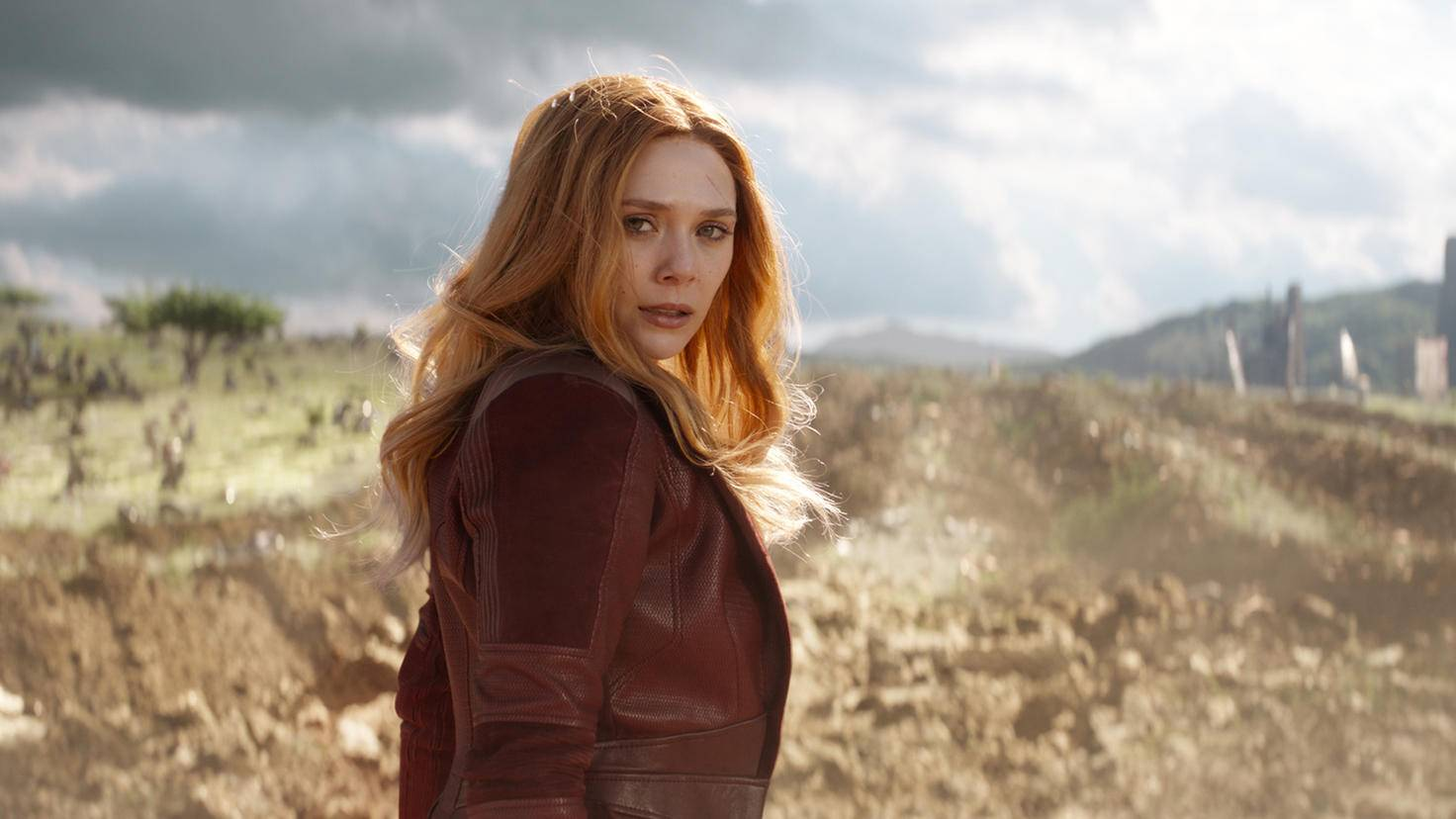 Scarlet Witch in Avengers Infinity War