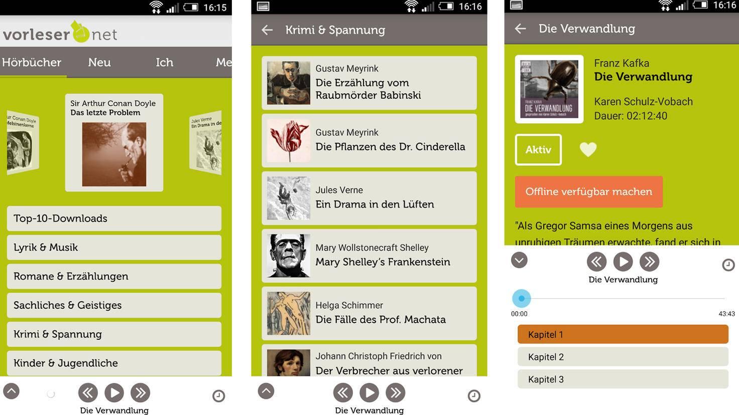 Vorleser-Google PlayStore-publishAir UG