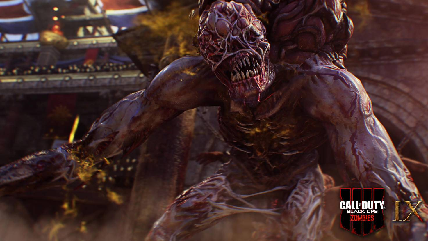 """""""Call of Duty: Black Ops 4"""" lässt wieder ein buntes Arsenal an Zombies auf die Spieler los."""