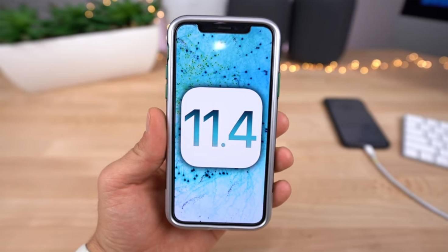 iOS 11.4
