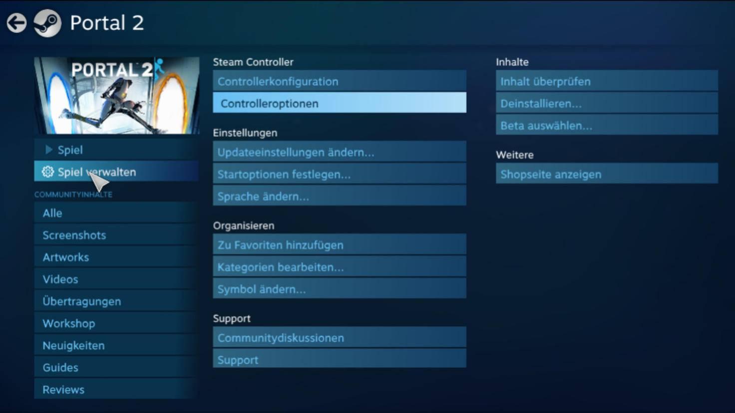 Der Pro Controller lässt sich für jedes Spiel einzeln einrichten.