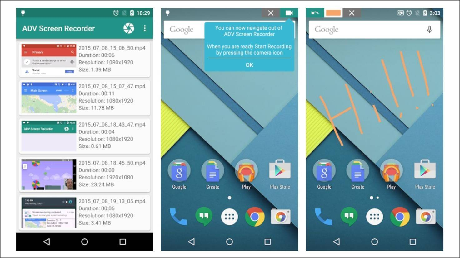 ADV-Screen-Recorder-Android-App
