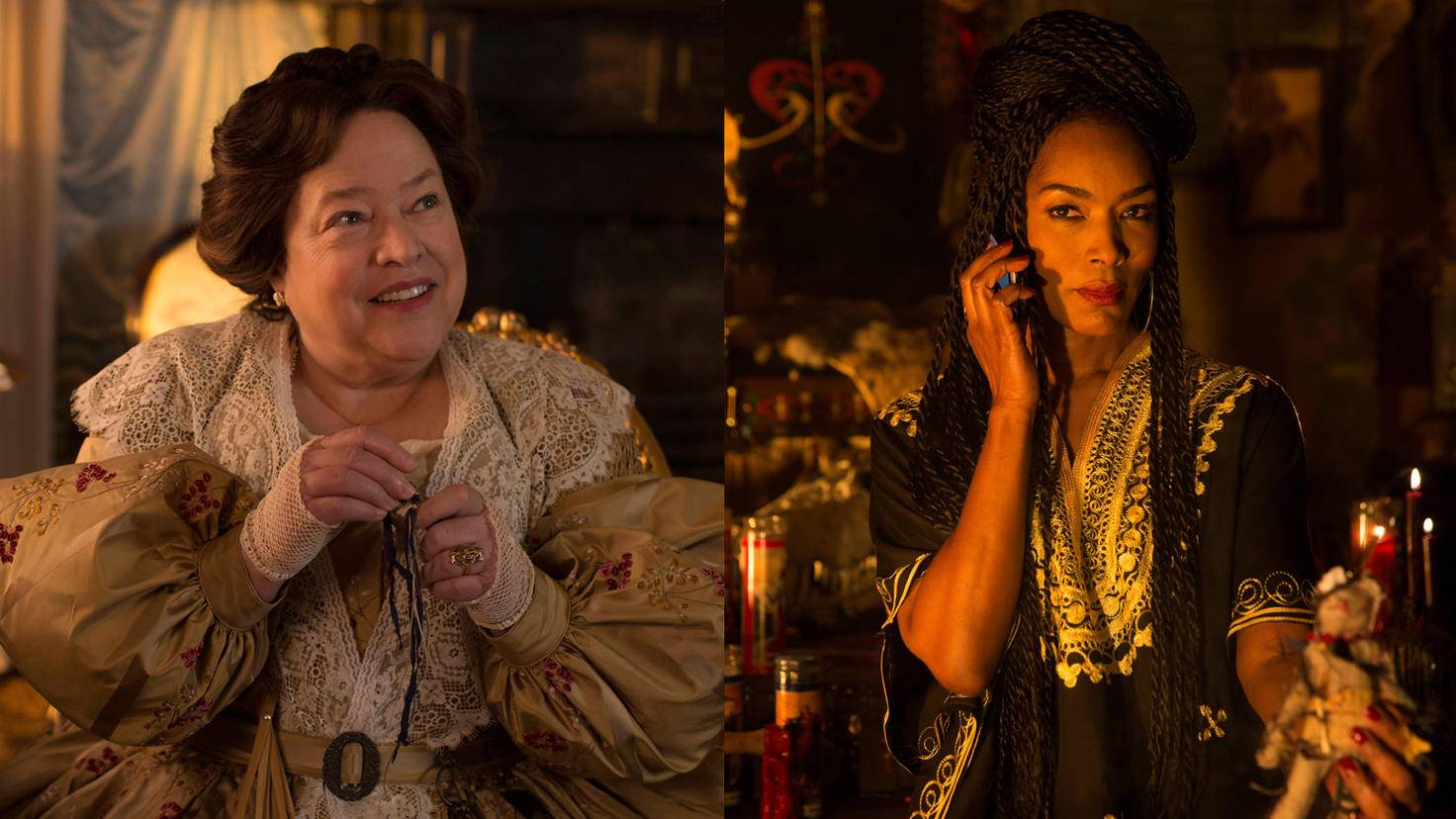 American Horror Story Coven-Staffel 3-Delphine Lalaurie-20th Century Fox-American Horror Story Coven-Staffel 3-Marie Laveau-20th Century Fox