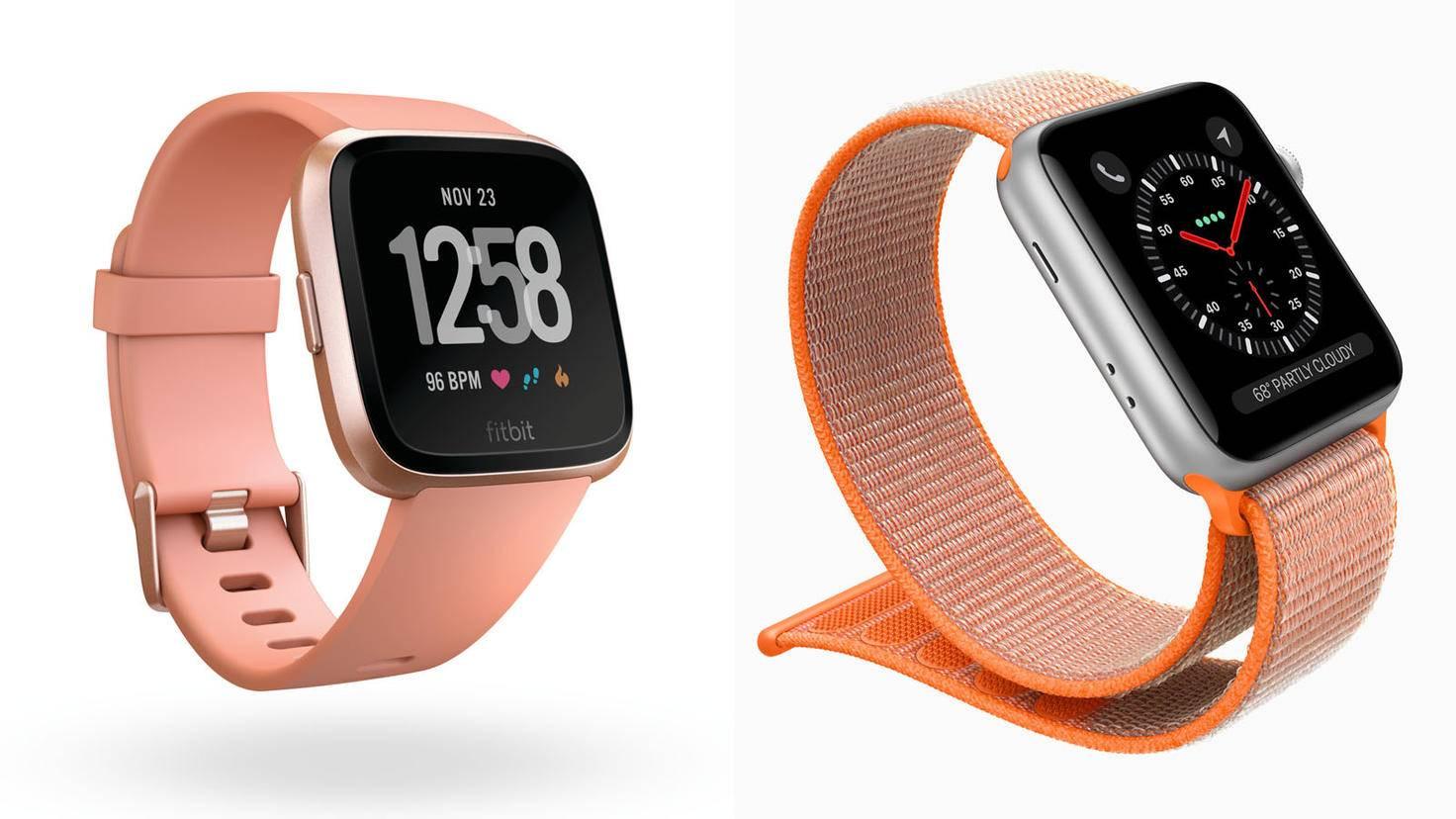 Apple Watch 3-Apple-Fitbit Versa-Fitbit