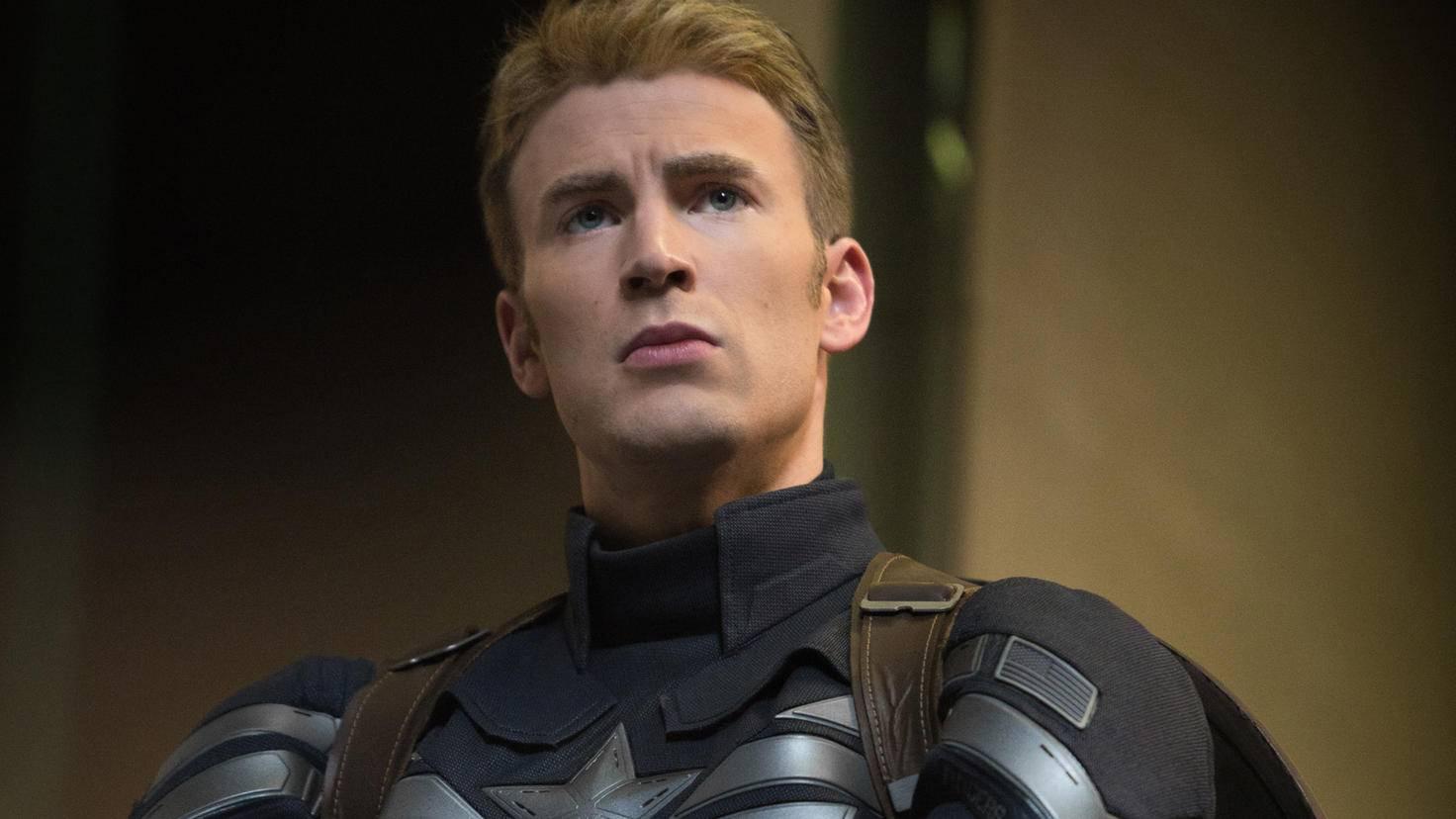 Captain America-Chris-Evans-Disney