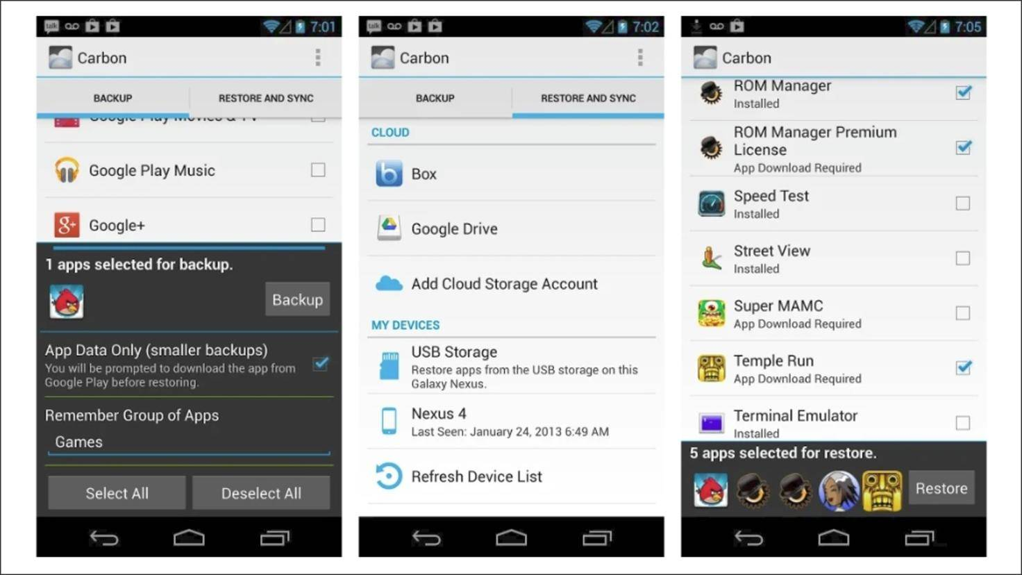 Helium-Backup-Android-App