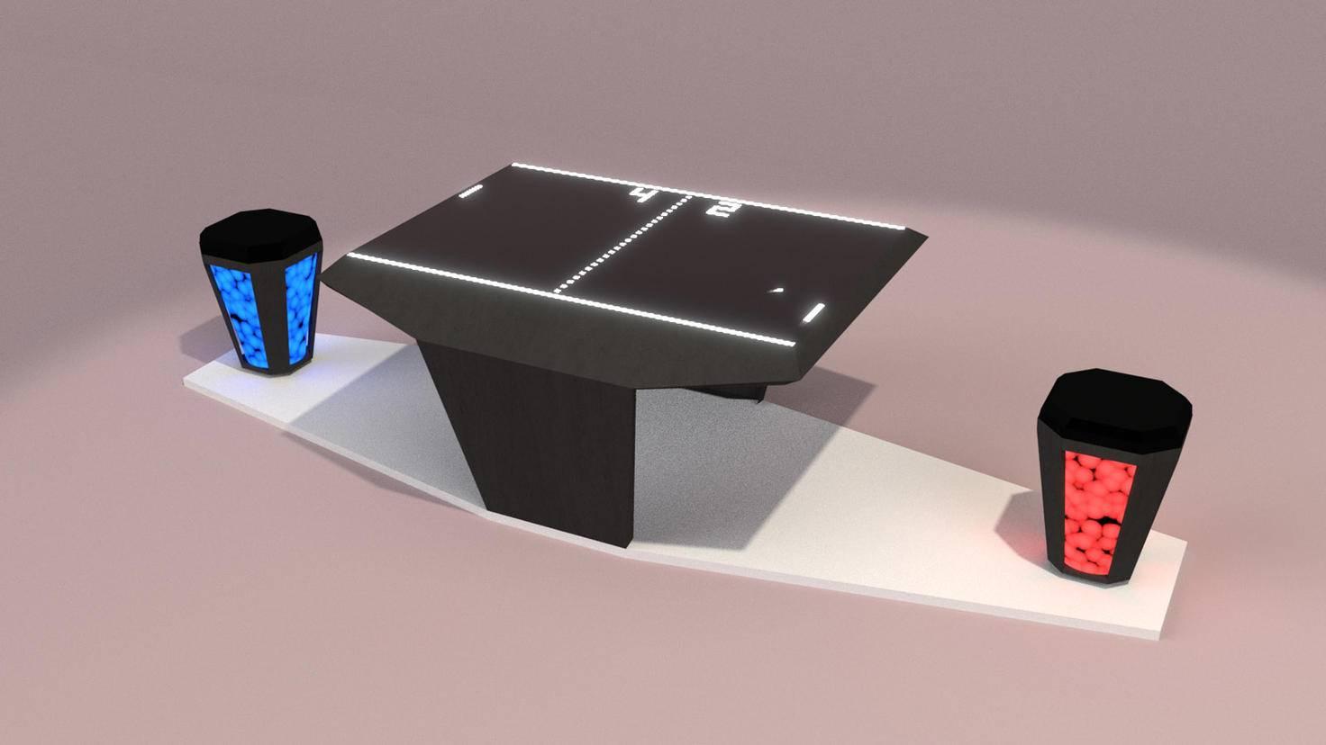 LED Sitzhocker gegen Rückenschmerzen