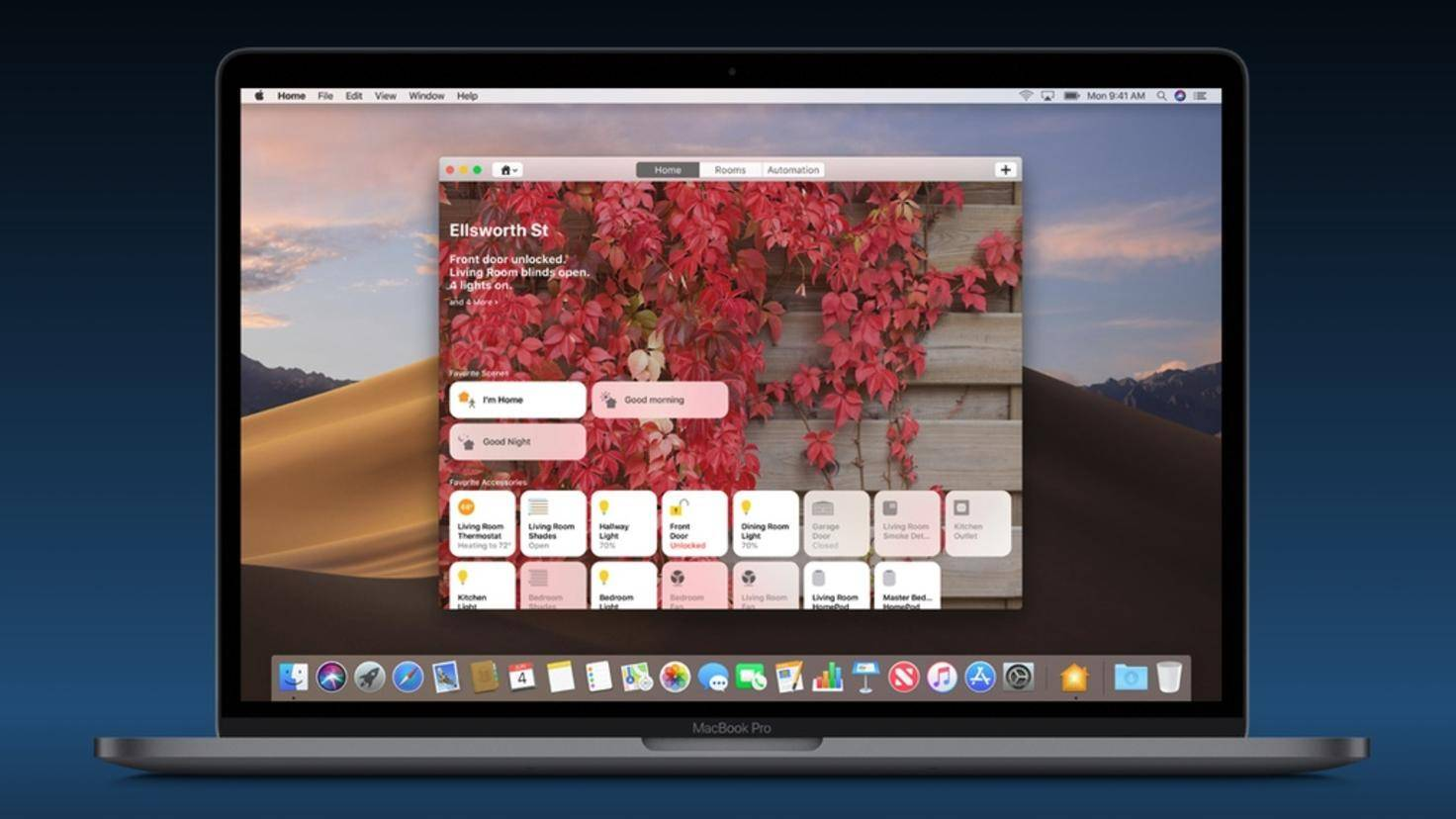 MacOS-Mojave-Home-App