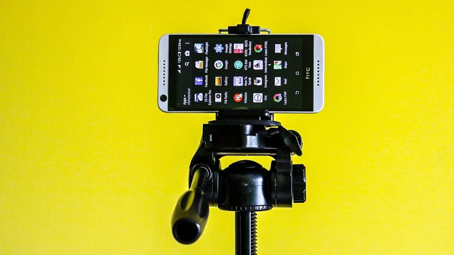 Smartphone Stativ 2