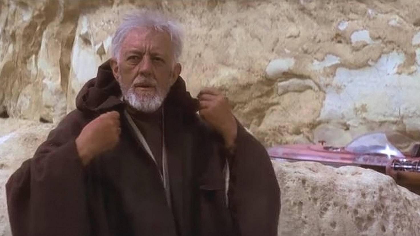 Star Wars-Obi-Wan Kenobi-Alec Guiness-YouTube-Marcelo Zuniga