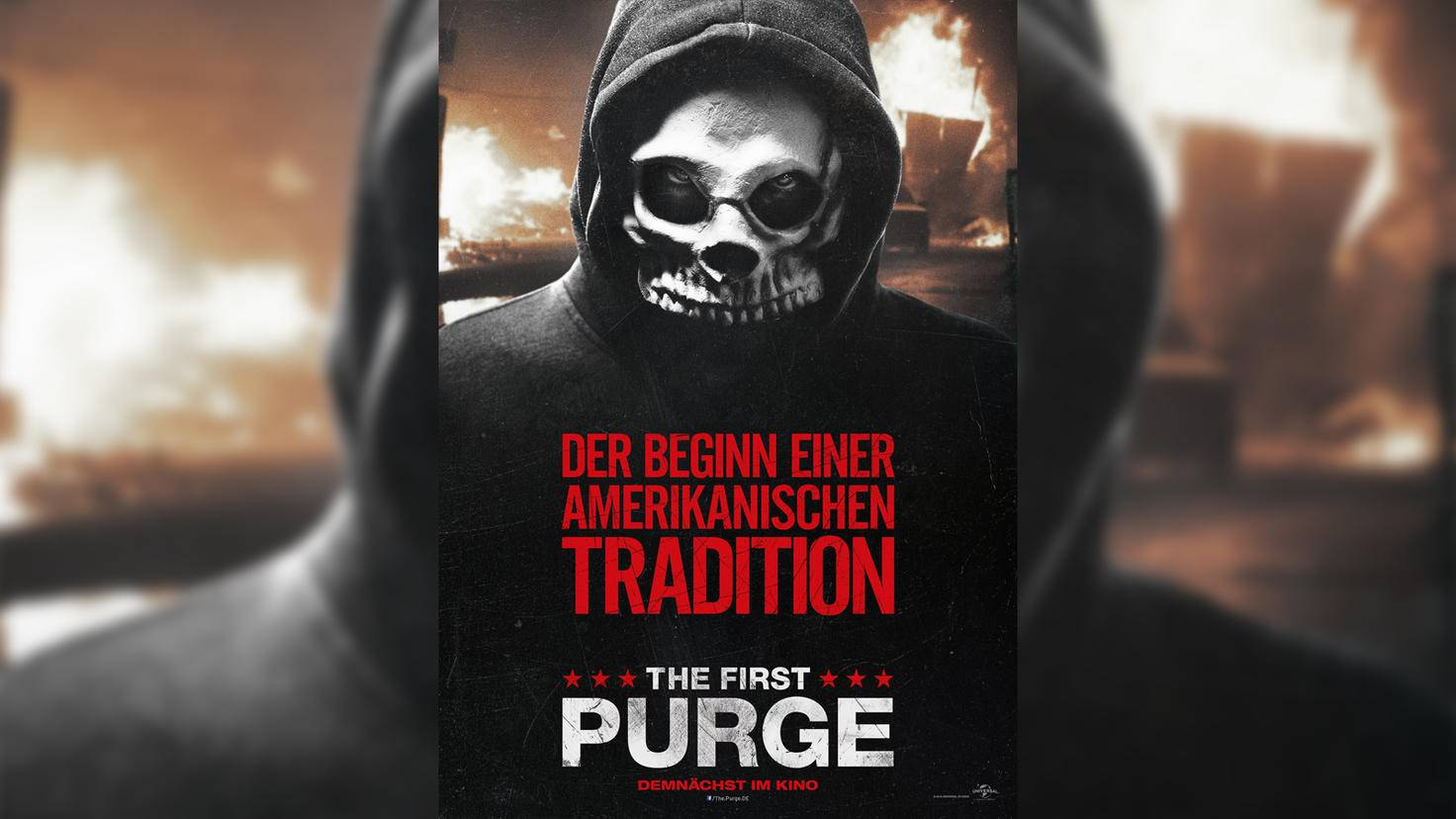 """The First Purge""-Charakterposter"