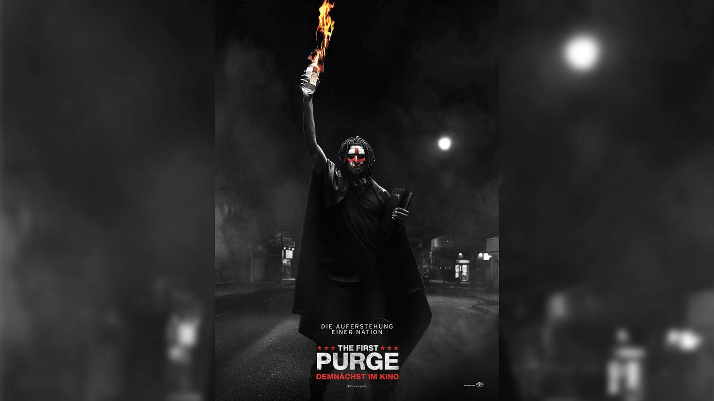 """The First Purge""-Teaserplakat"