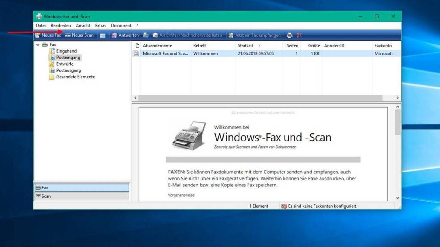 Windows-Fax-und-Scan