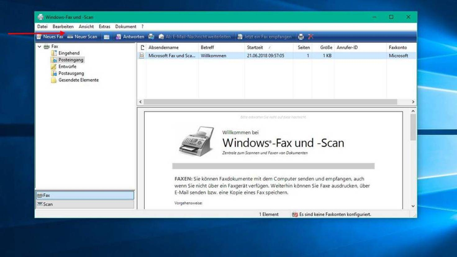 Windows-Fax-und-Scan