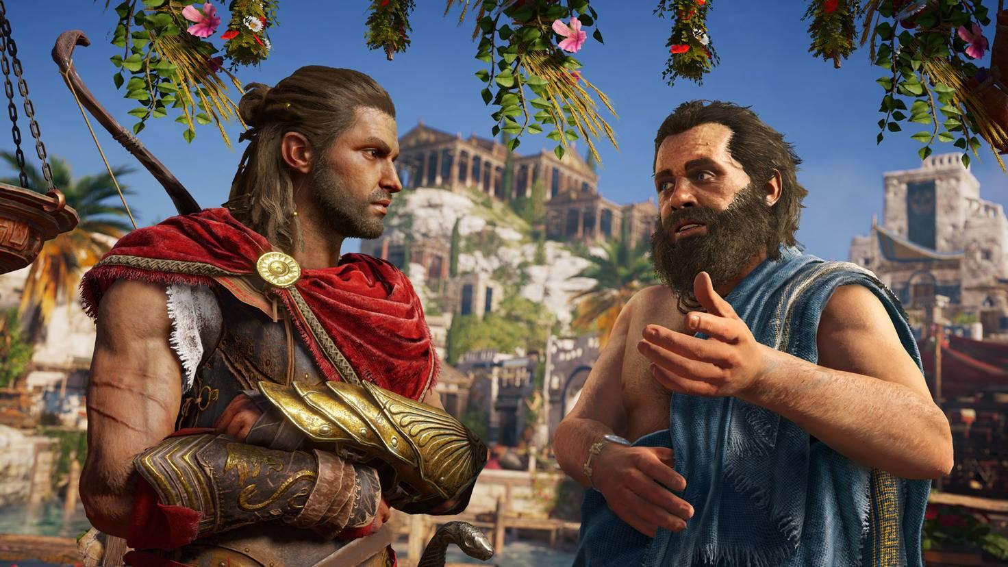 """""""Assassin's Creed Odyssey"""" heißt ja auch nicht zufällig so ..."""