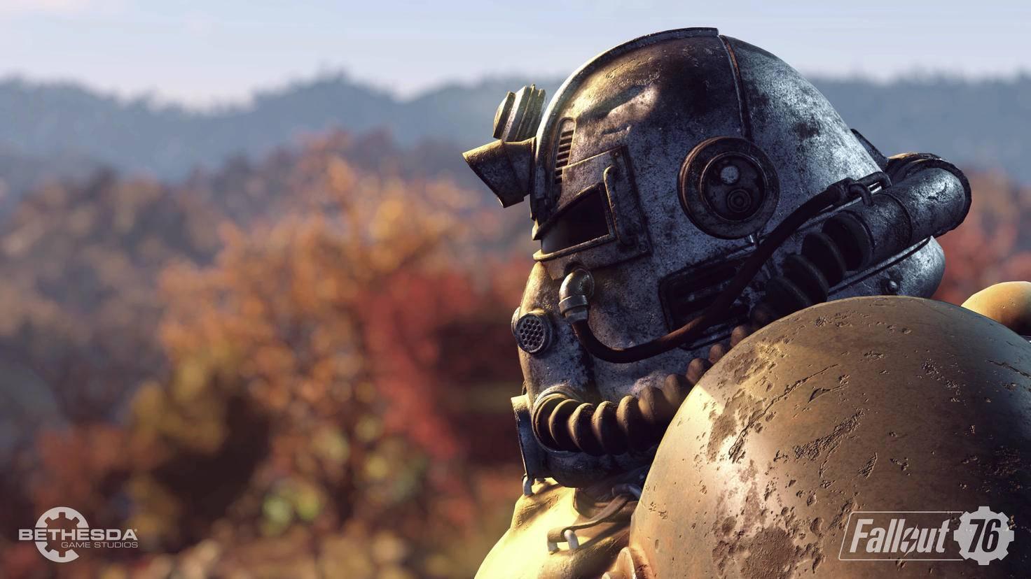 """Nur echt mit Power-Armor: Die schwere Rüstung werden wir mit Sicherheit auch in """"Fallout 5"""" wieder tragen dürfen."""