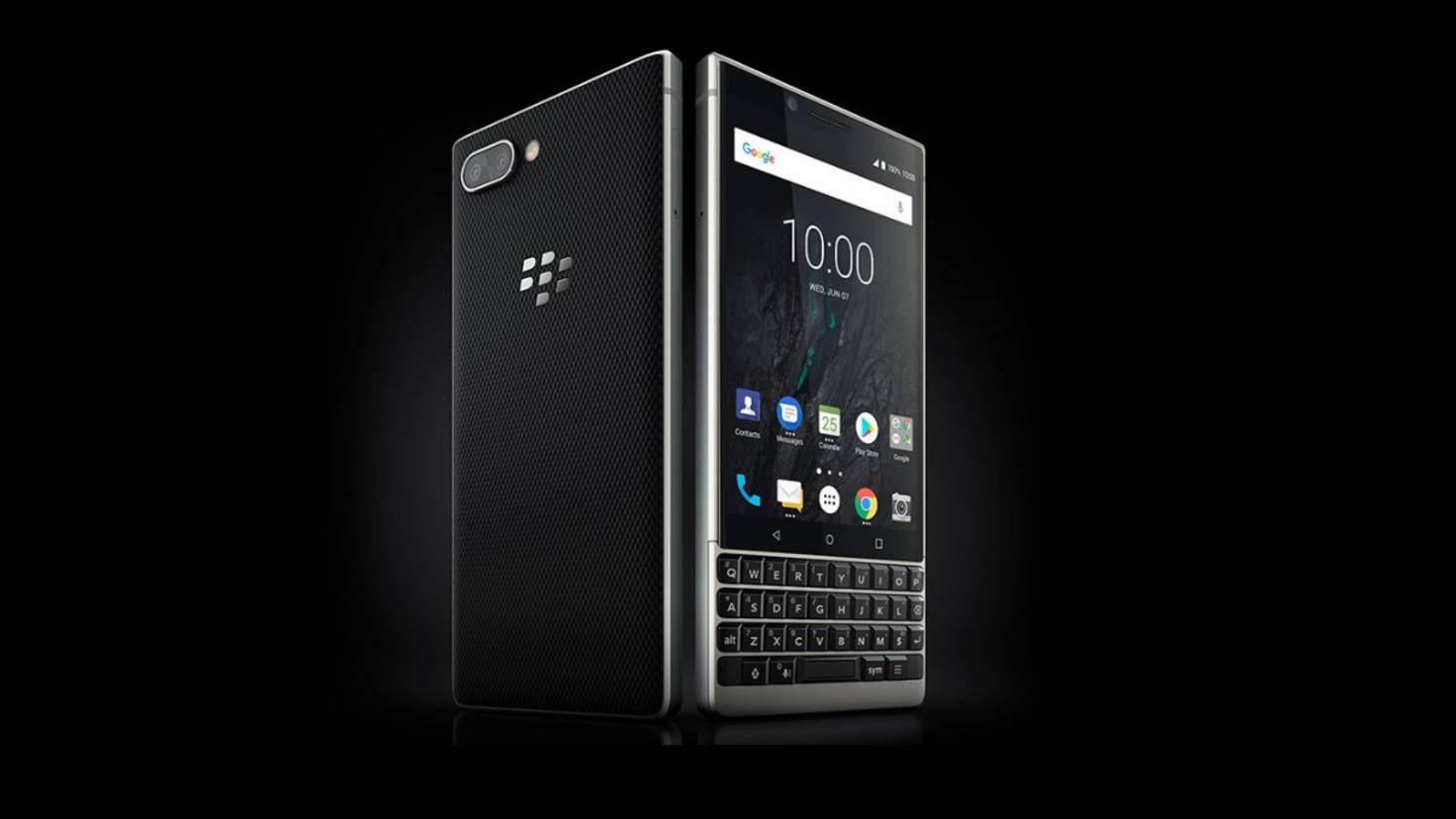 BlackBerry Key 2 Smartphone mit Tastatur