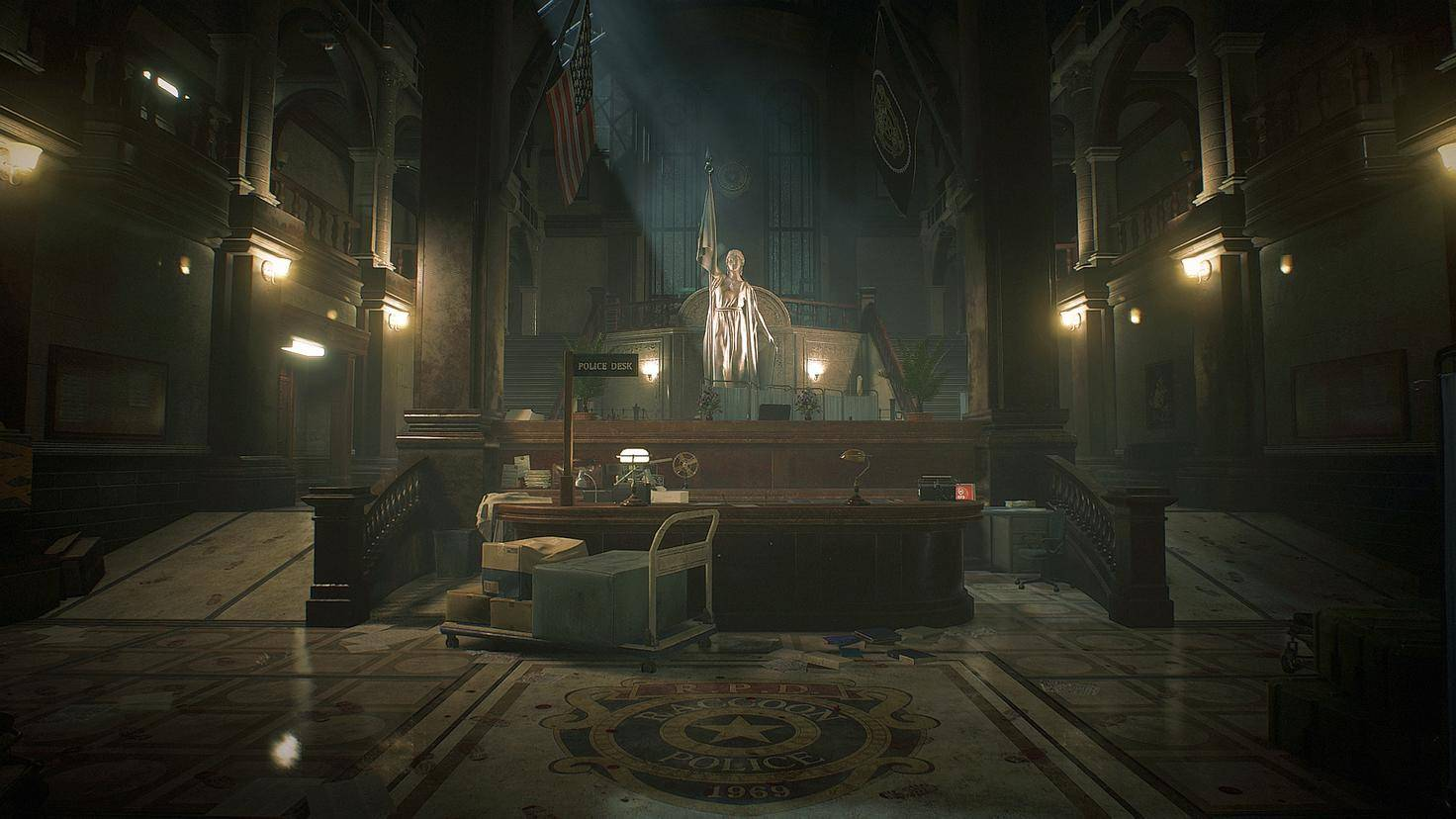 resident-evil-2-remake-screenshot-front-hall