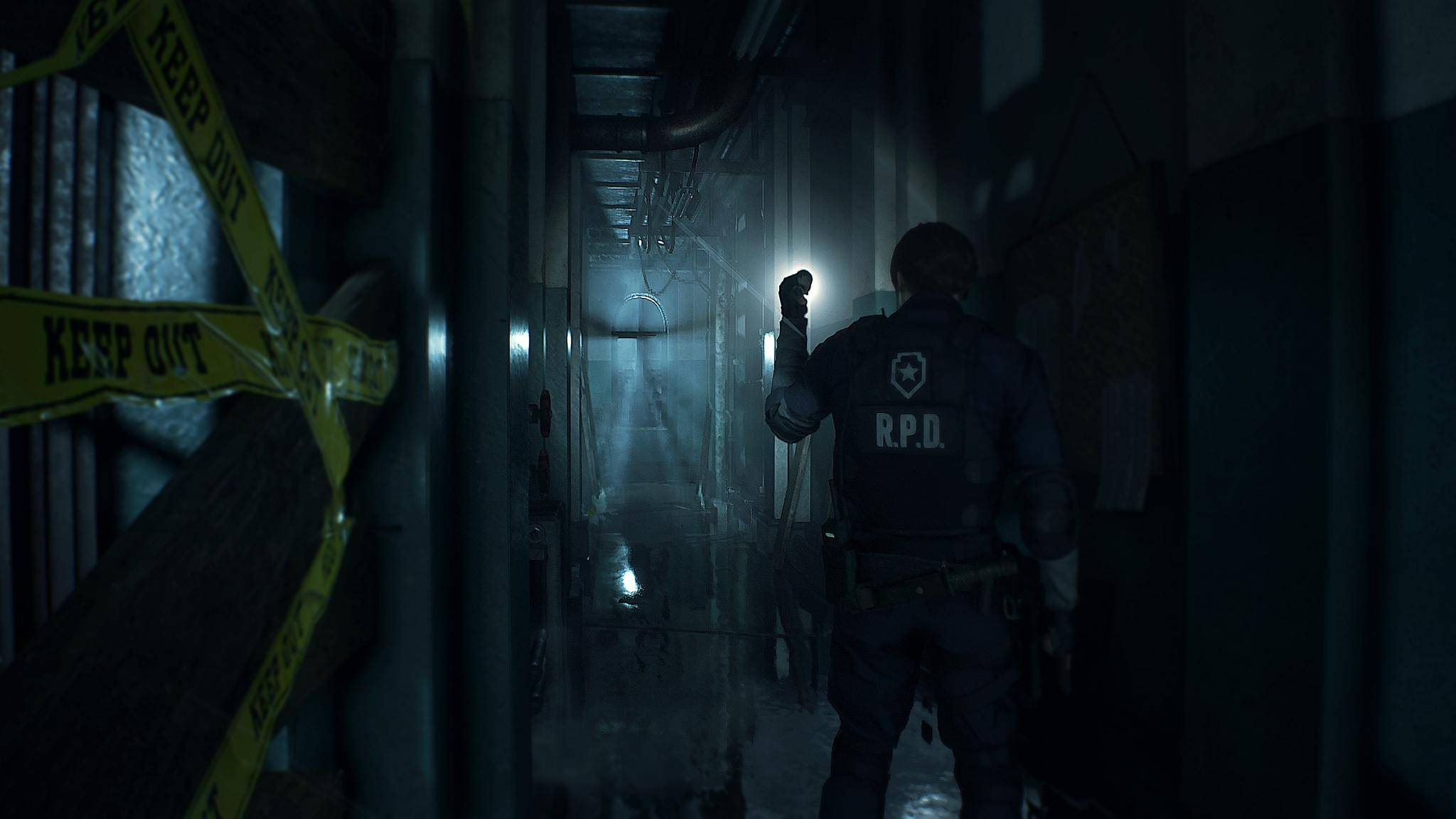 resident-evil-2-remake-screenshot-hallway