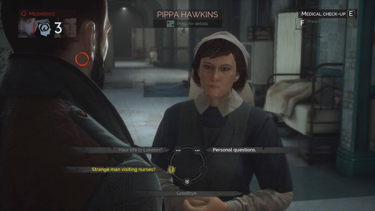 In Dialogen lernen ich die Charaktere besser kennen. Manchmal ...
