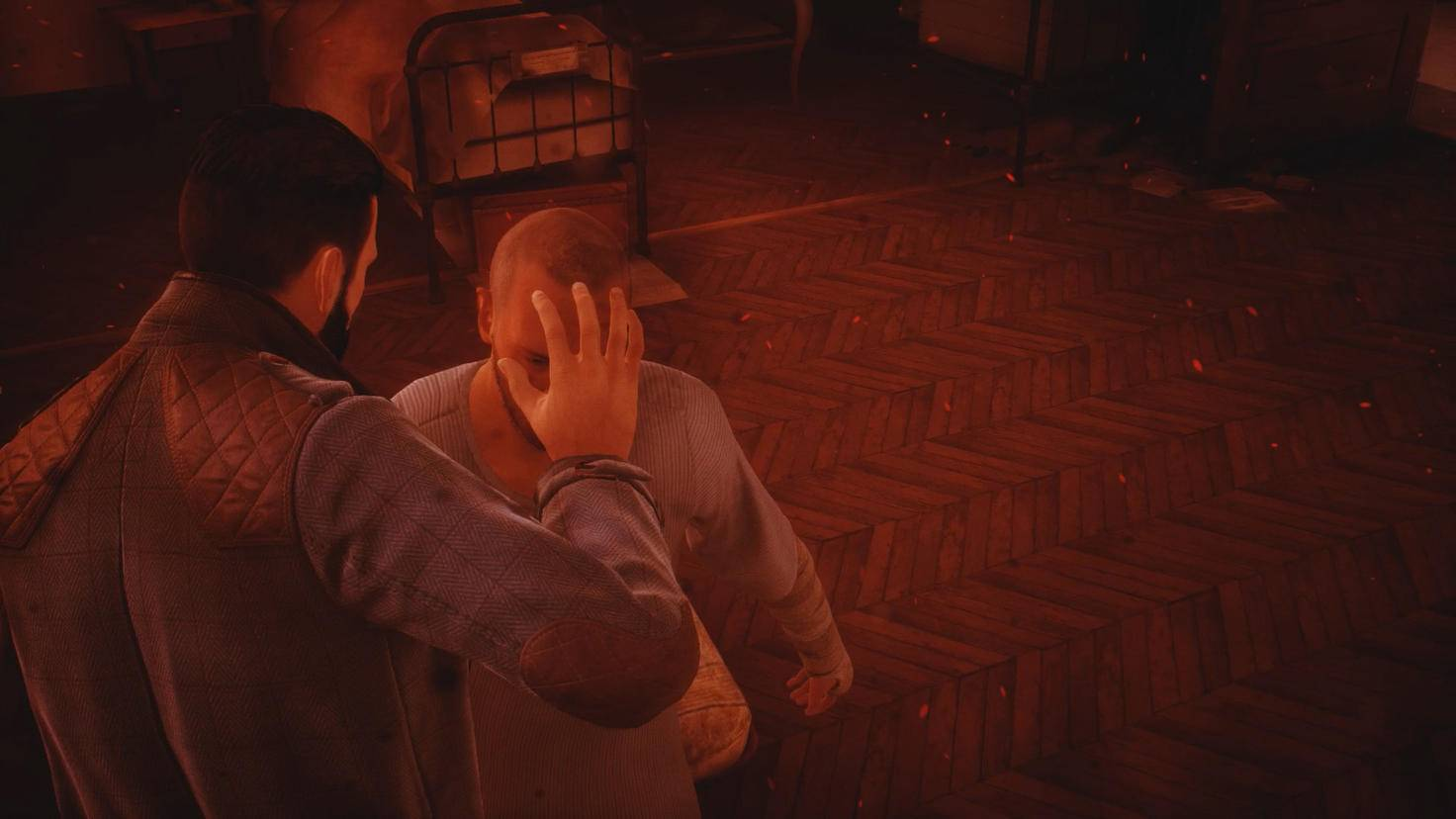 Blutdurst: Jonathan Reid hypnotisiert einen NPC.