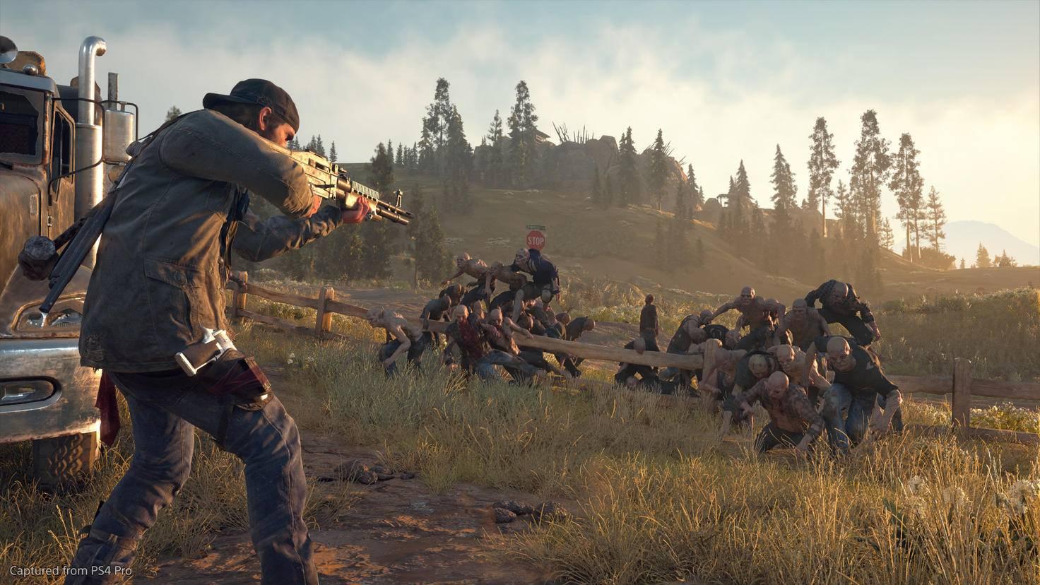 Days Gone Screenshot E3 2018 Zombies
