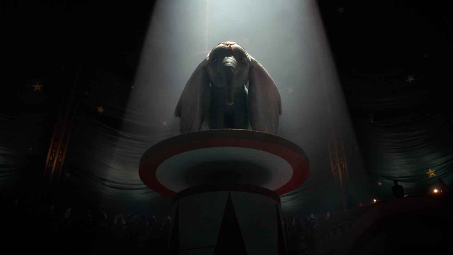 Und Dumbo sein Star.
