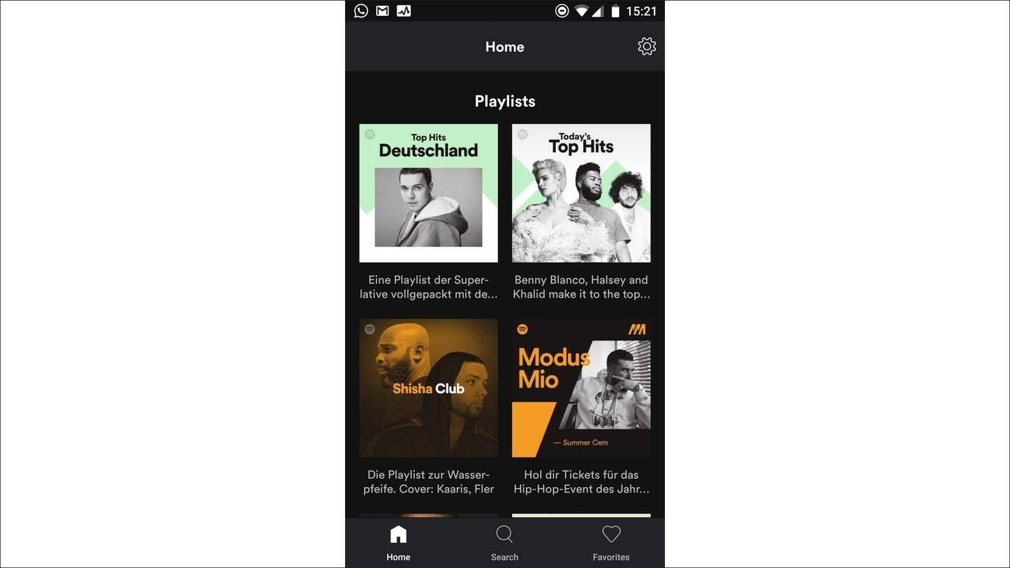 Bei Spotify Lite musst Du große Kompromisse eingehen.