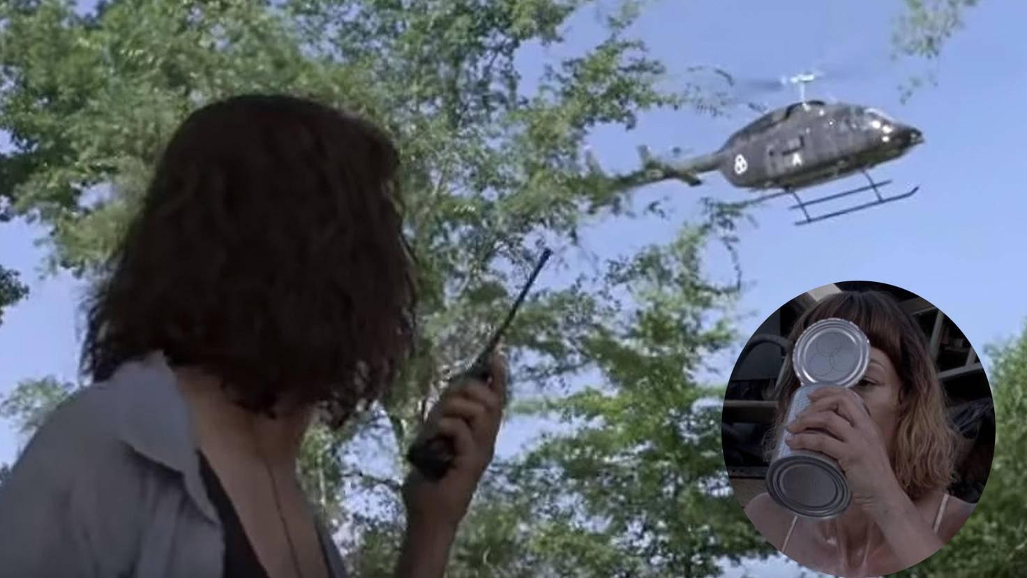 The Walking Dead-S09-Trailer-YouTube-TV Guide-Hubschrauber-The Walking Dead-S08E10-YouTube-The PT Channel-Jadis Dose