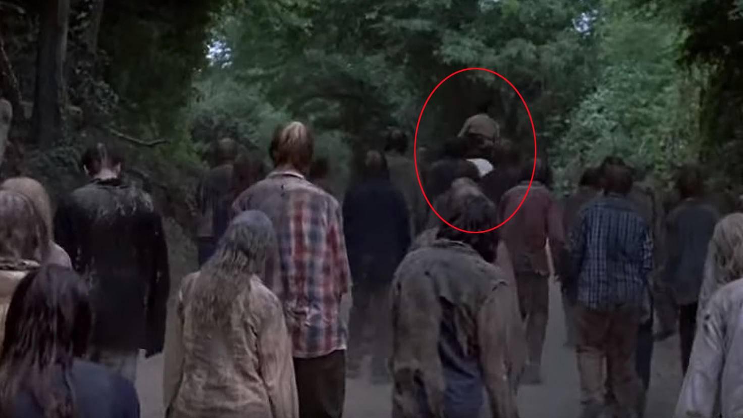 The Walking Dead-S09-Trailer-YouTube-TV Guide-Rick Grimes Pferd Beißer