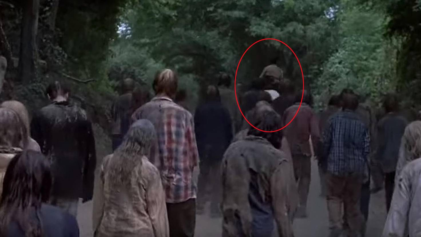 The Walking Dead-S09-Trailer-YouTube-TV Guide-Rick Grimes Pferd Beißer