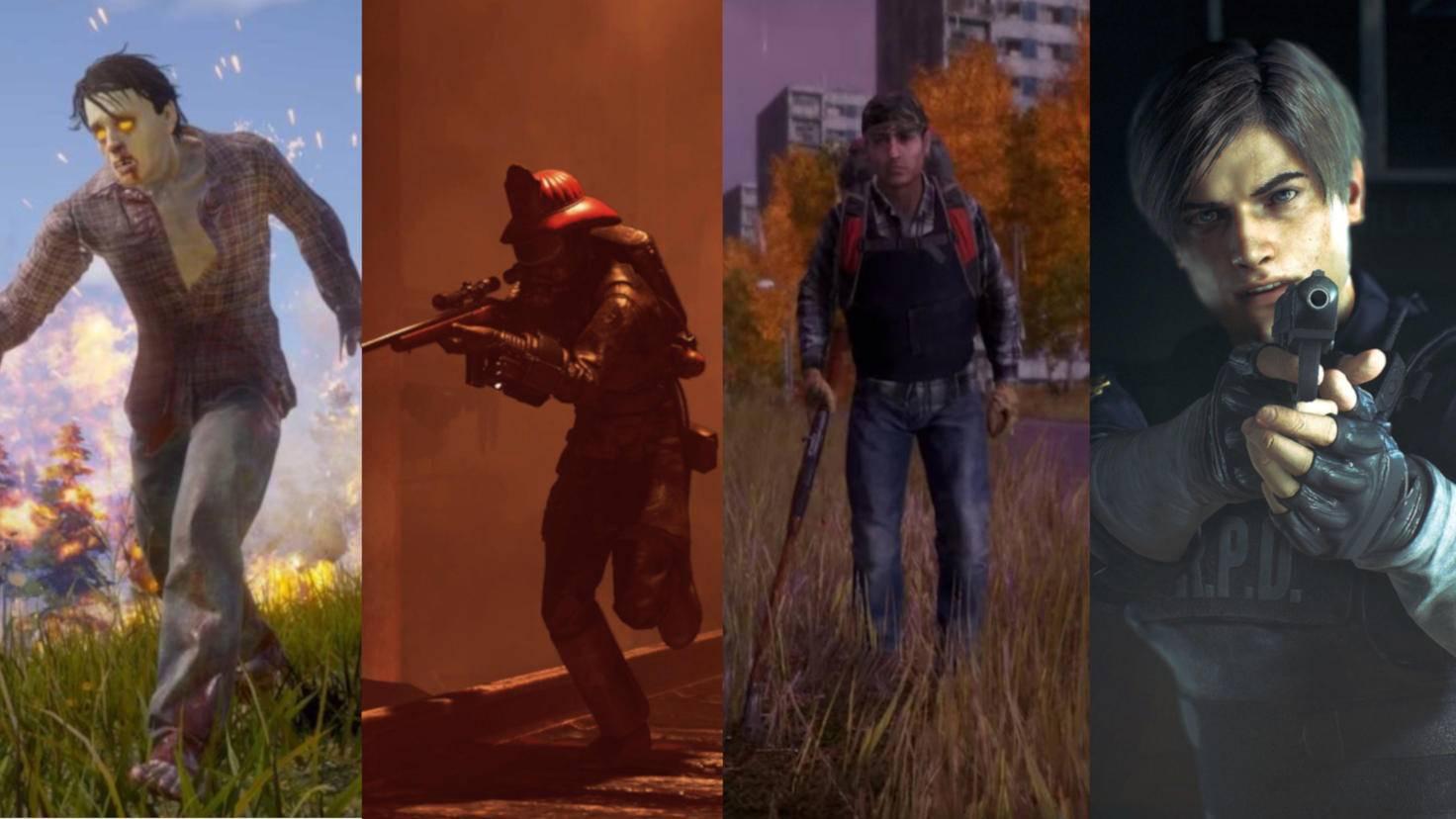 Auch in diesen vier Spielen steht der Kampf ums Überleben im Mittelpunkt.