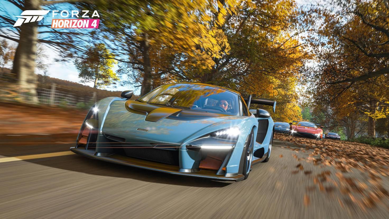 """""""Forza Horizon 4"""" will in Sachen Open-World-Racing im Oktober neue Maßstäbe setzen."""