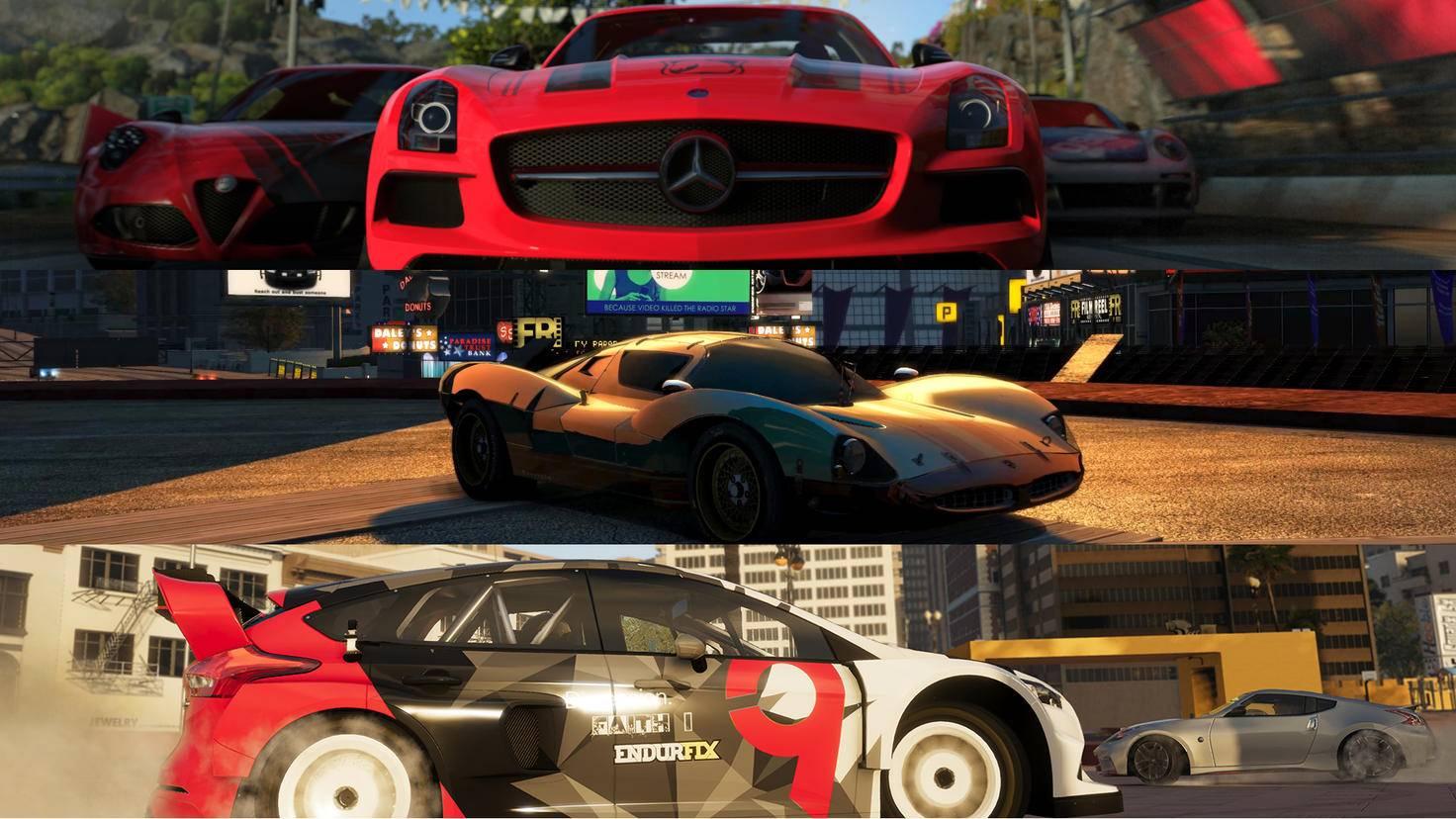 Wir präsentieren Dir drei actionreiche Racing-Games – und eine etwas abseitigere Überraschung.