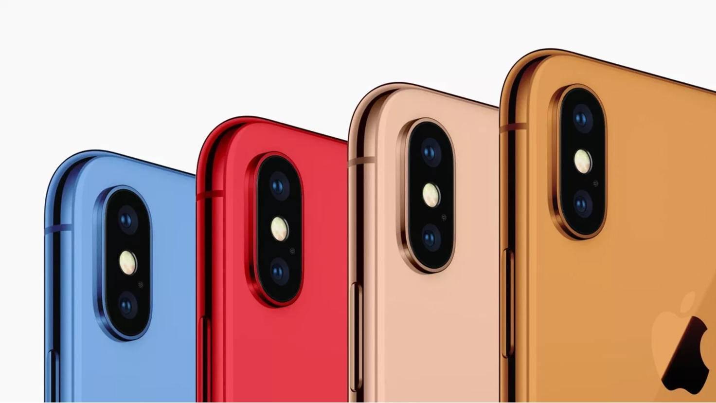 iPhone 2018 Farben