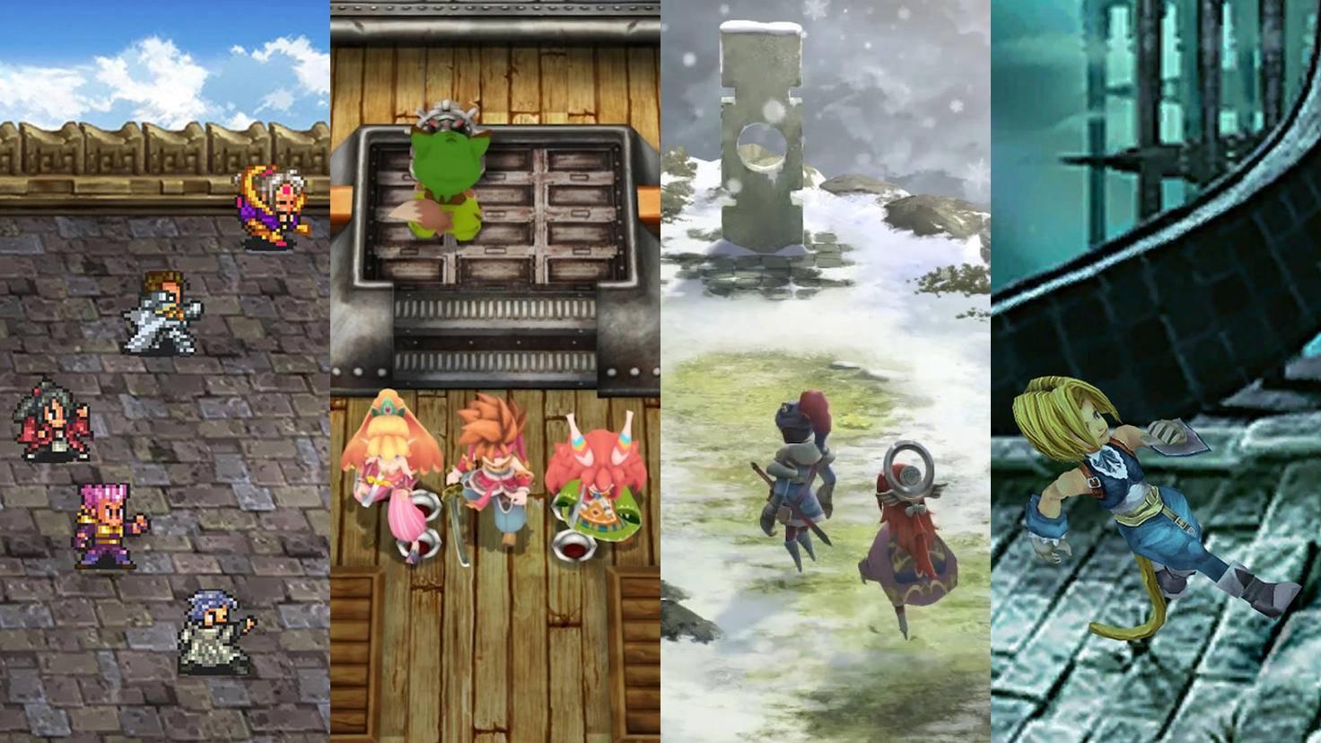 """""""Romancing SaGa 2"""", """"Secret of Mana"""", """"I Am Setsuna"""" und """"Final Fantasy 9"""" lassen auch auf PS4 und PC Nostalgie aufkommen."""