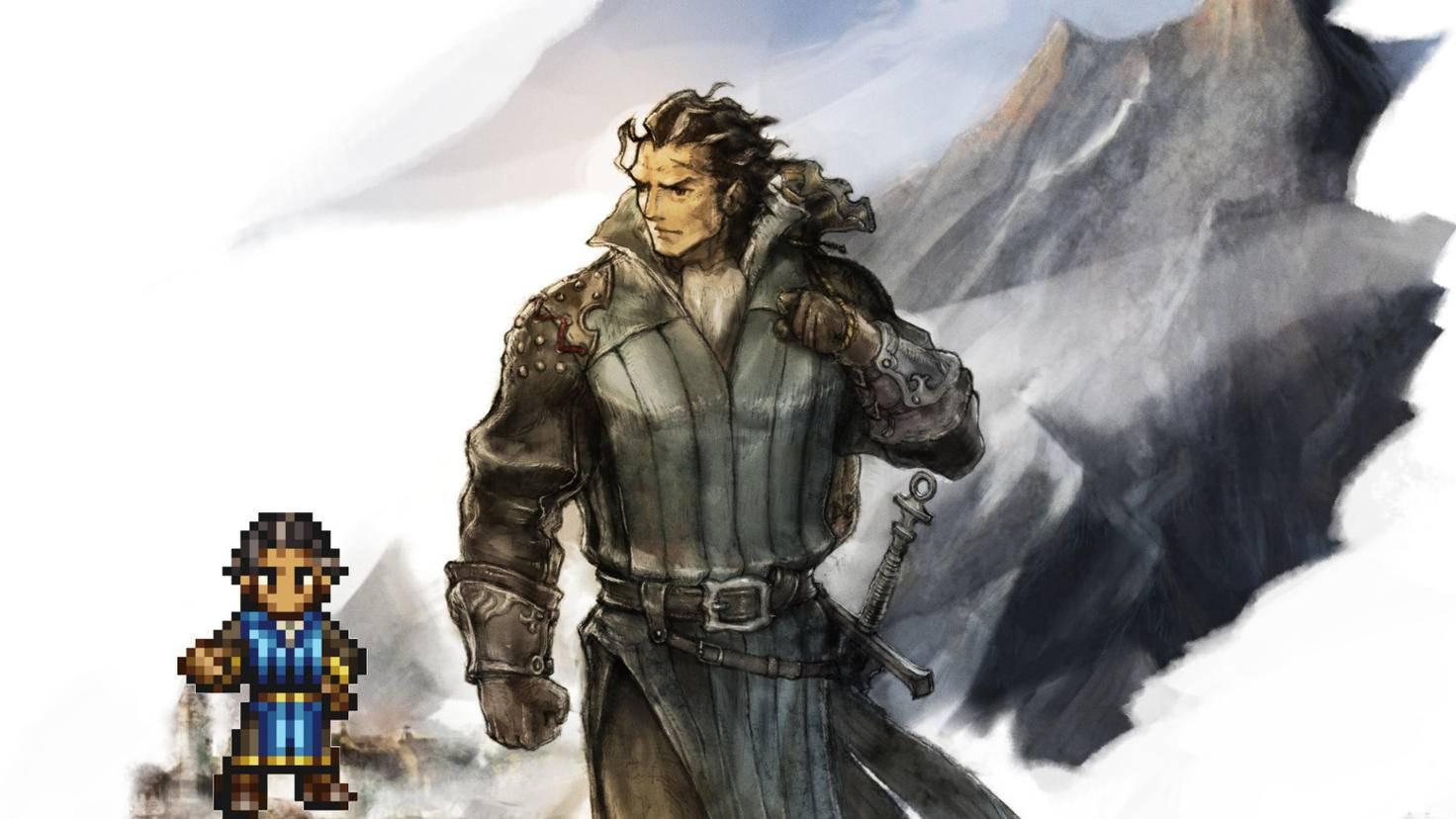 Olberic ist der perfekte Einsteiger-Held für RPG-Neulinge.