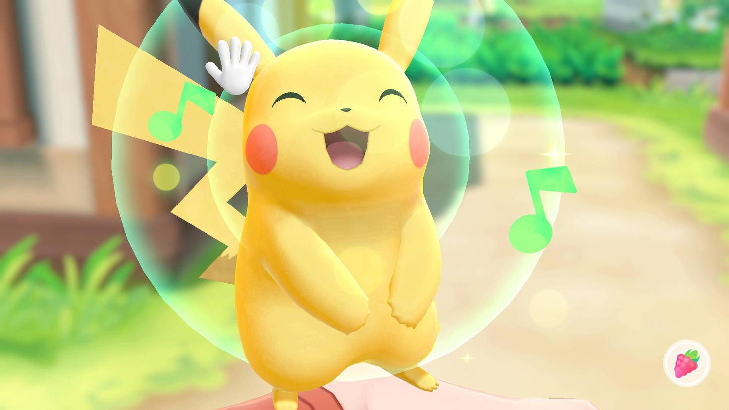 Mit Deinem Partner-Pokémon verbringst Du viel Zeit.