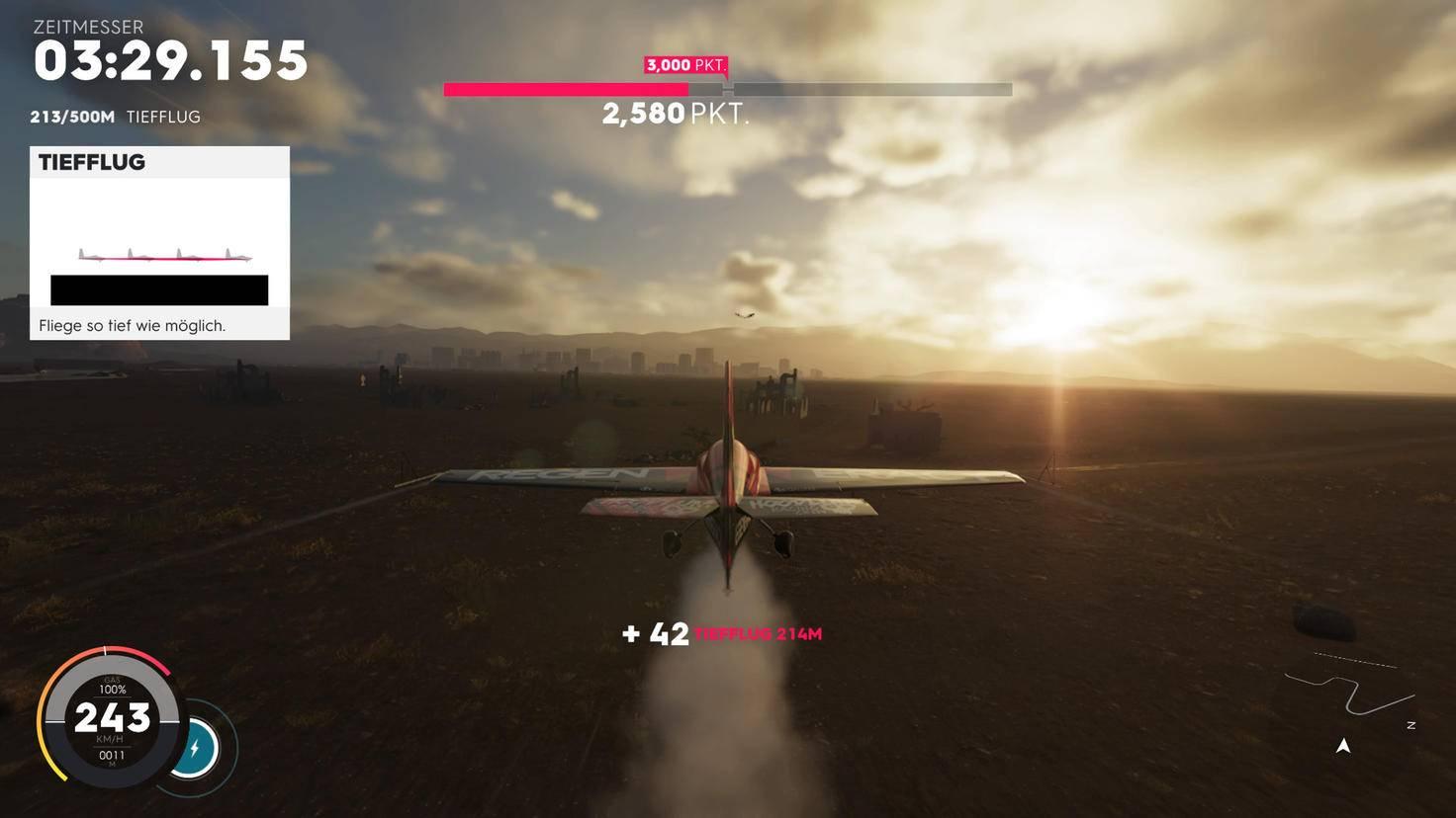 ... und Flugzeuge gehören zum Portfolio.