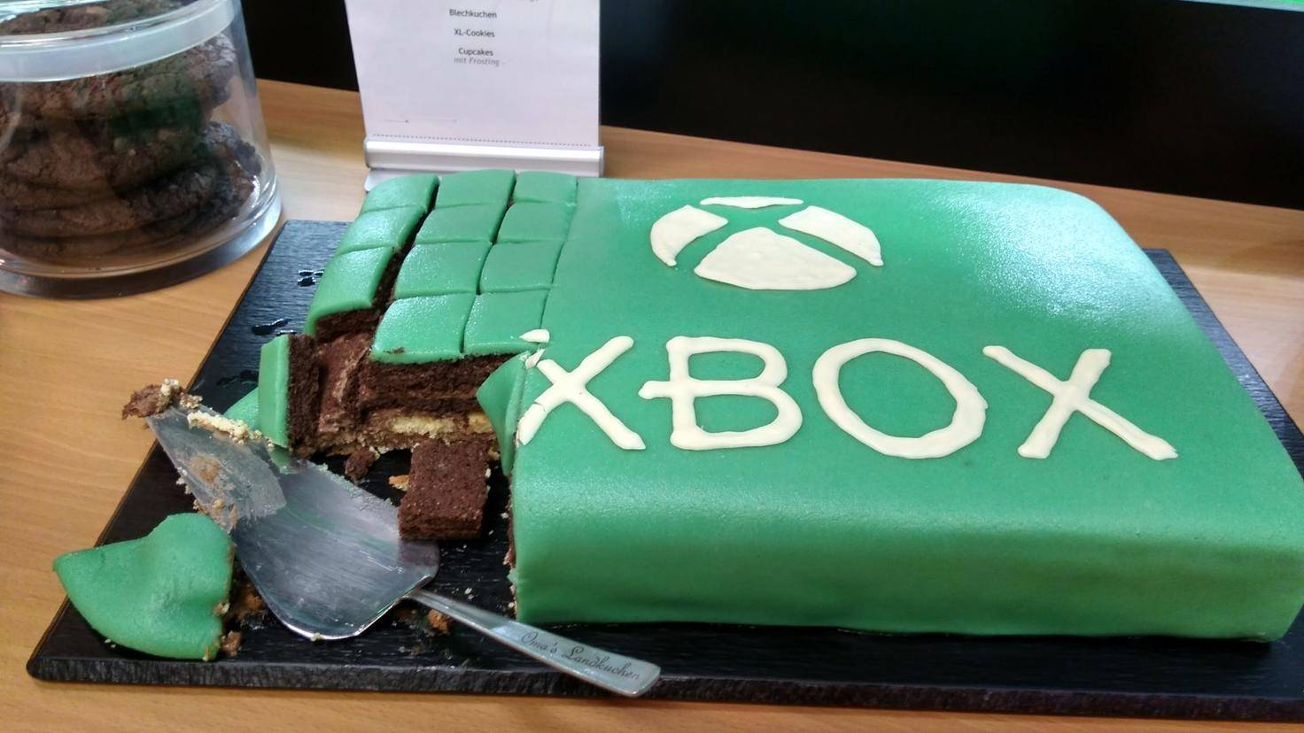 xbox kuchen