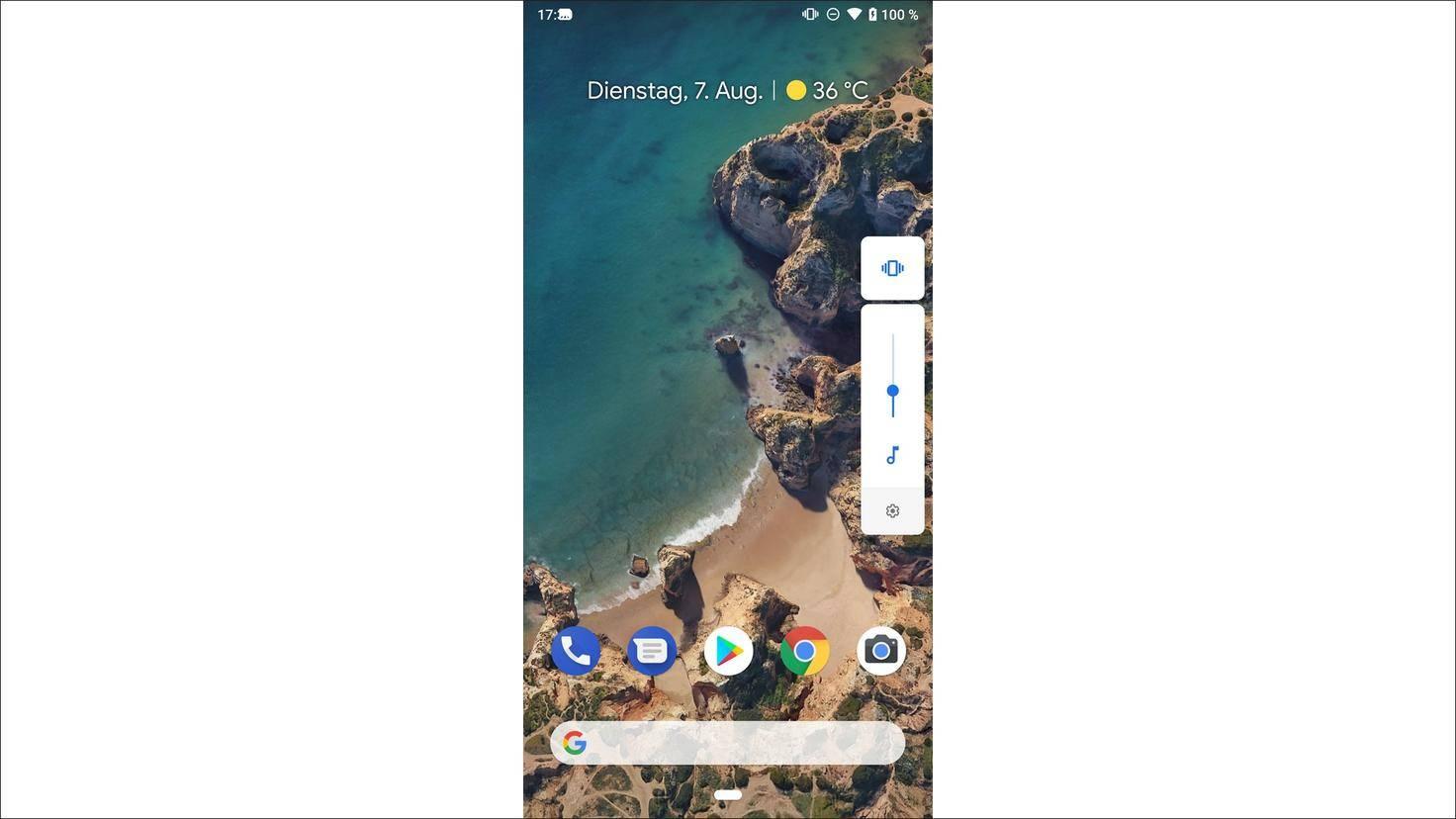 Android-9.0-P-Lautstärke-Fenster