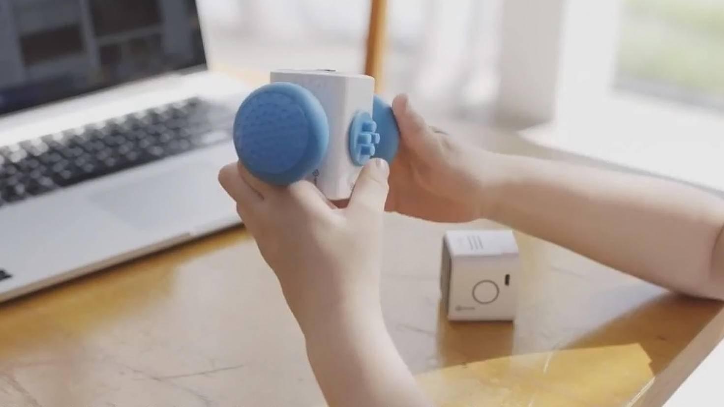 Das Stecksystem macht den Mini-Robo super-praktisch.