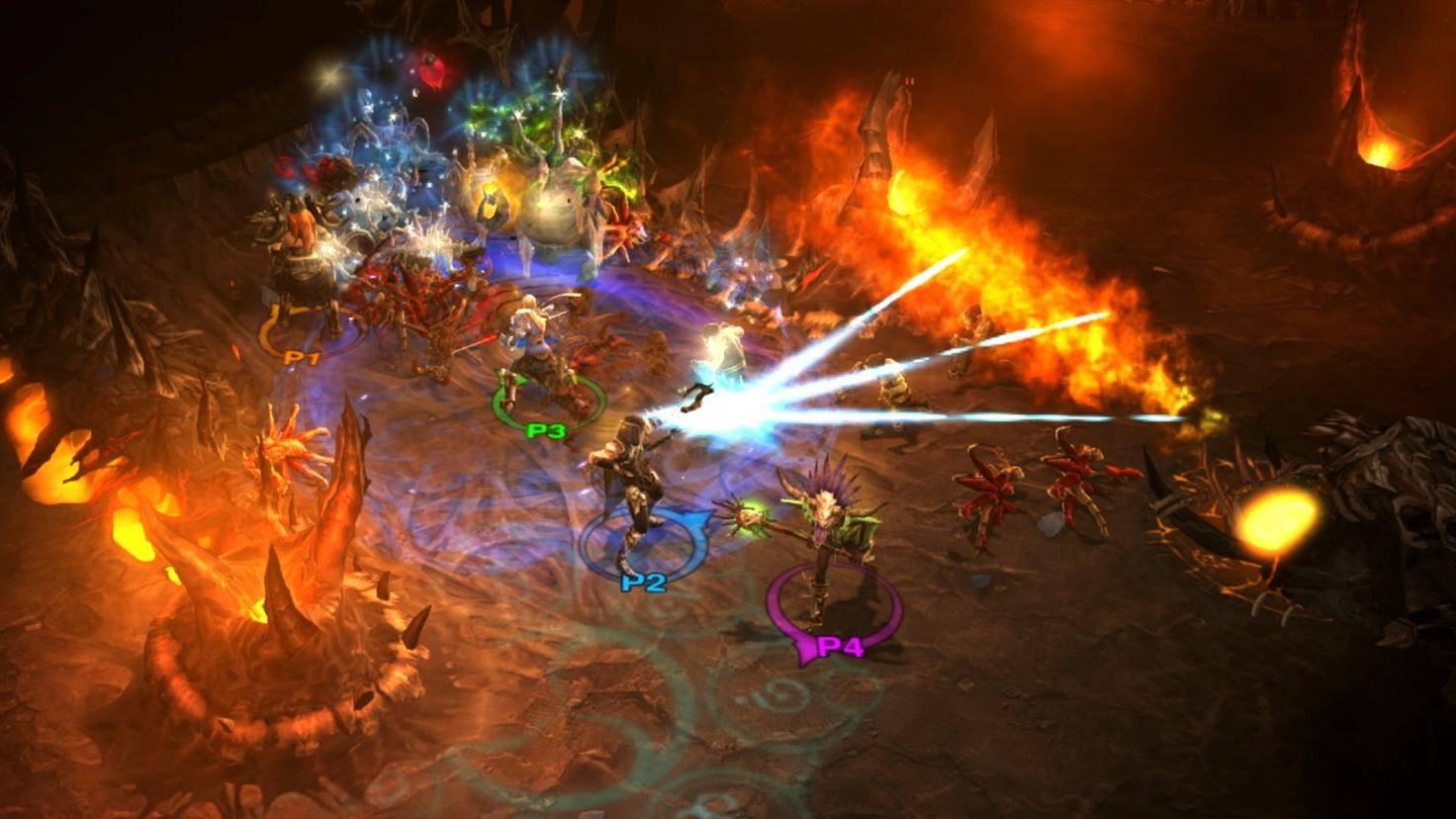 """Wenn jeder seine eigene Switch hat, wird """"Diablo 3"""" nicht so schnell unübersichtlich wie beim Zusammenspielen am selben Bildschirm."""