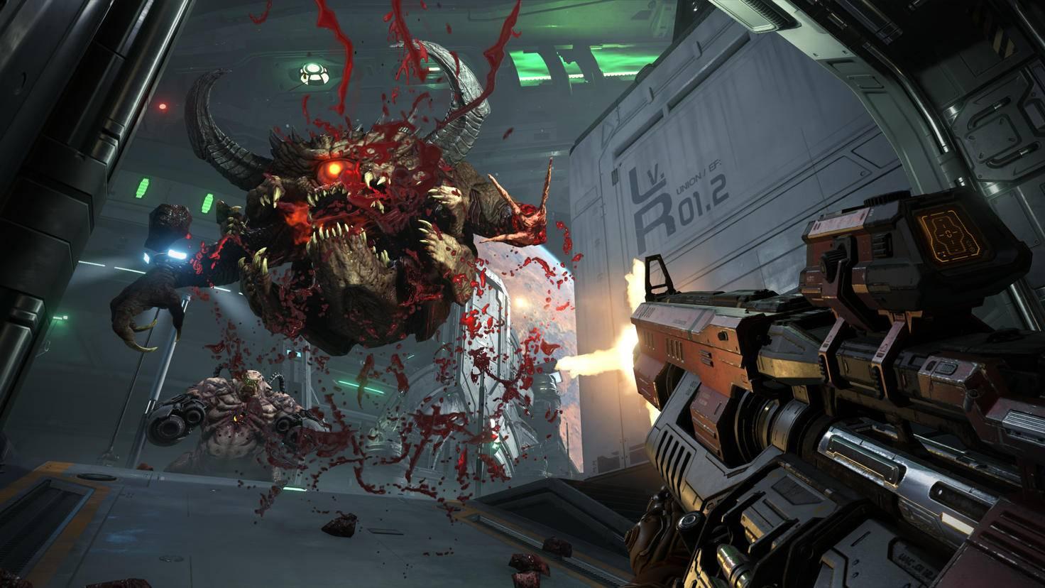 """""""Doom Eternal"""" gehört zu den ersten bekannten Stadia-Titeln."""