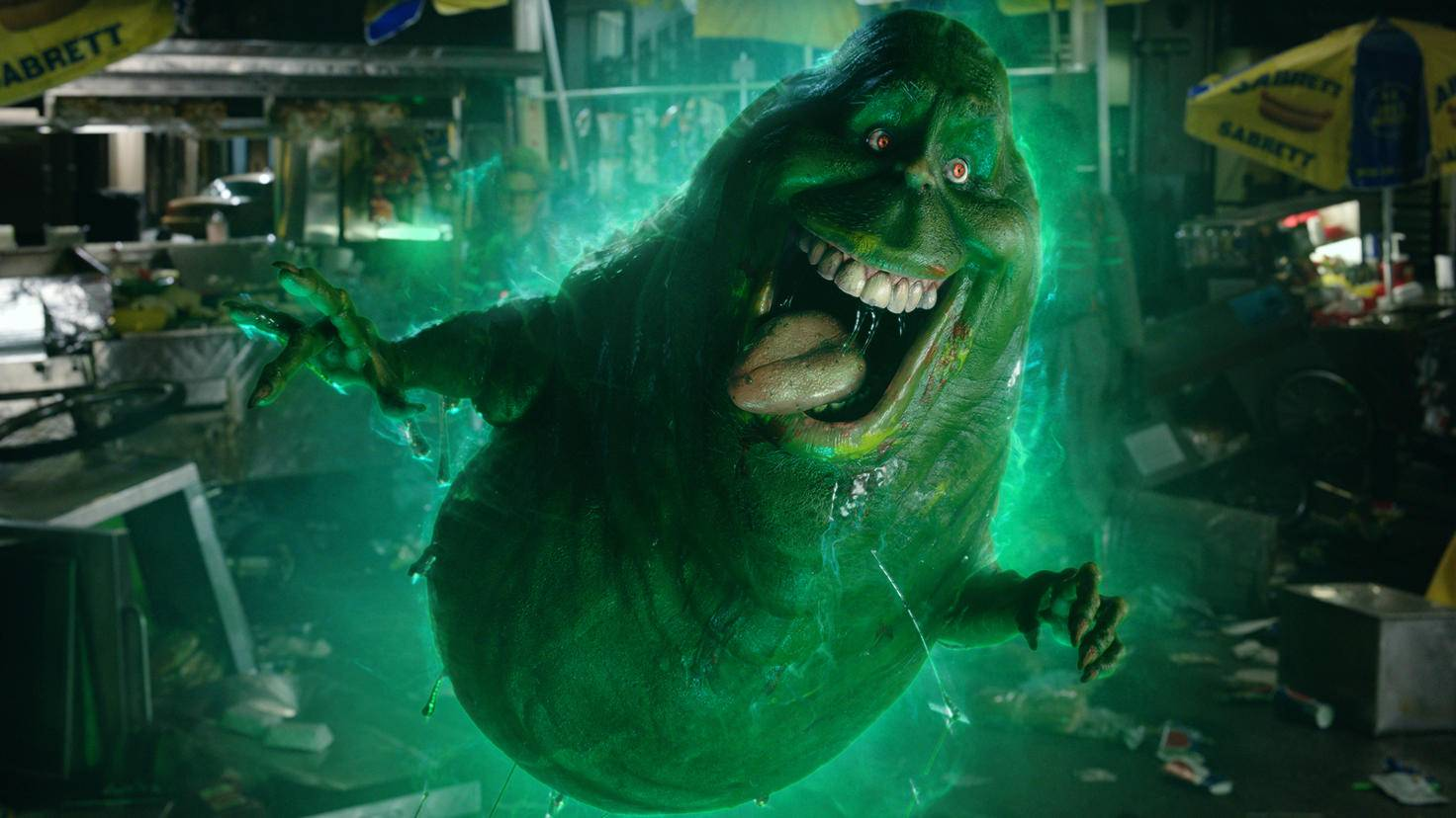 Ghostbusters 2016-Slimer-Sony Pictures Home Entertainment